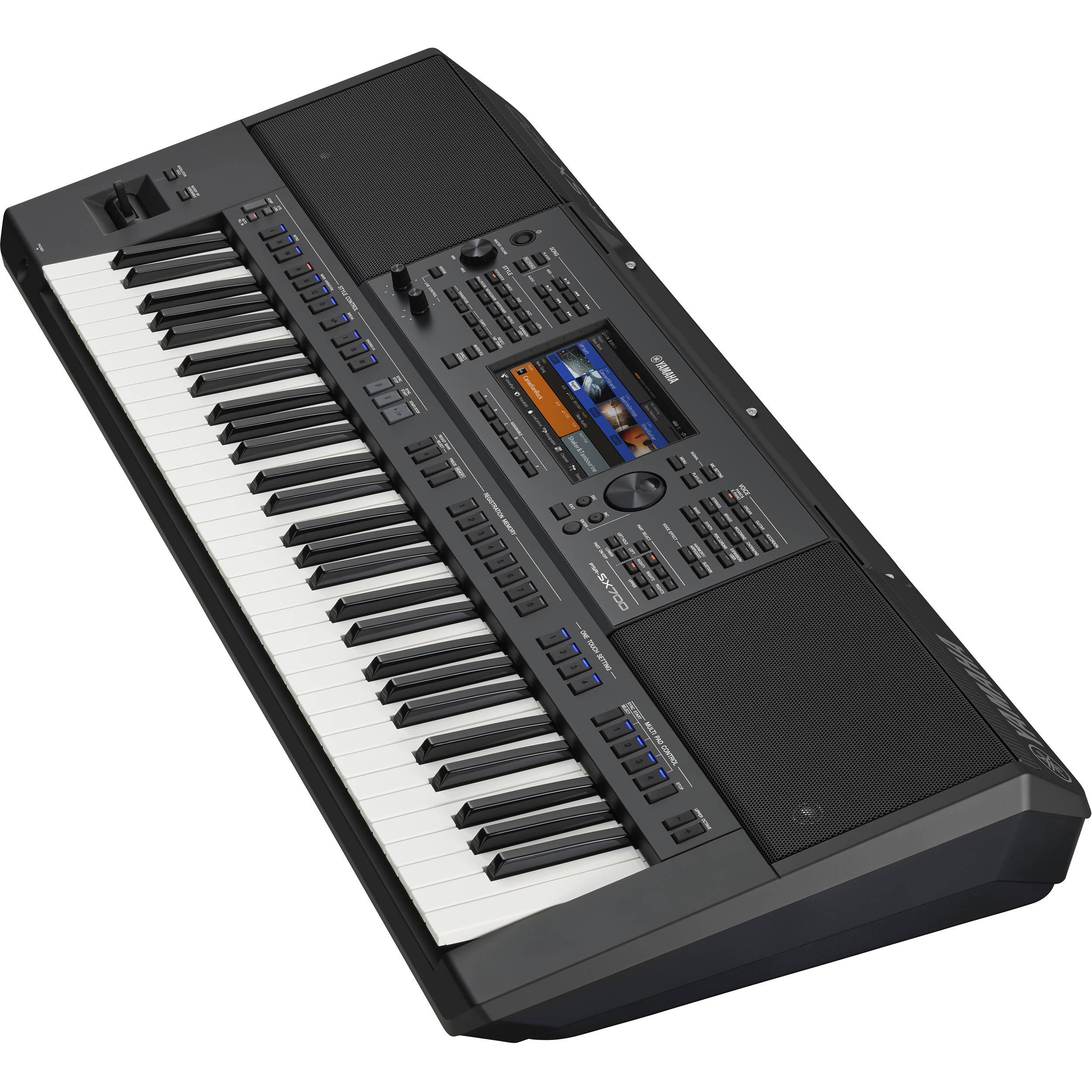 Yamaha PSRSX700 61-Key Mid-Level Arranger Keyboard