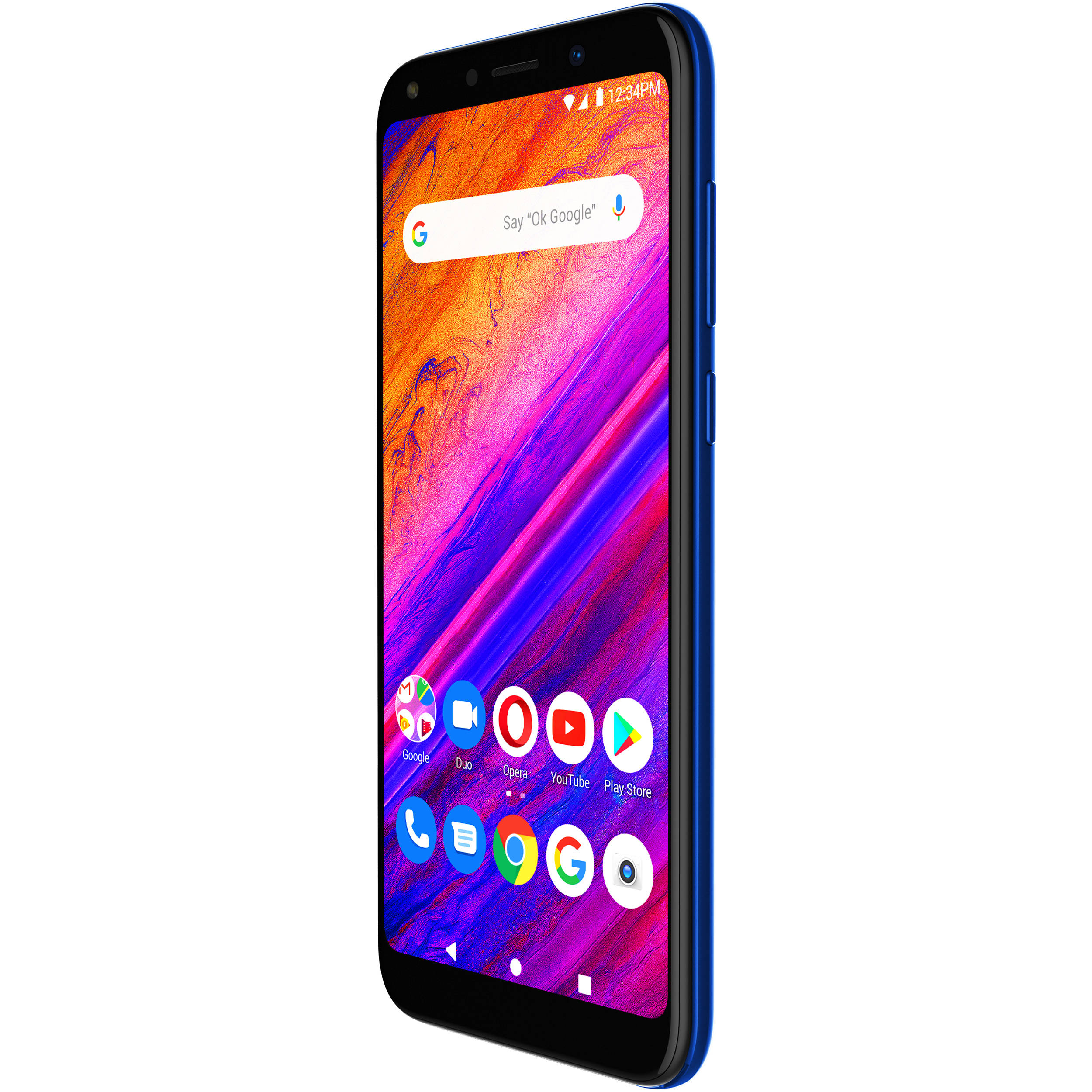 BLU G6 G0210UU Dual-SIM 64GB Smartphone (Black)