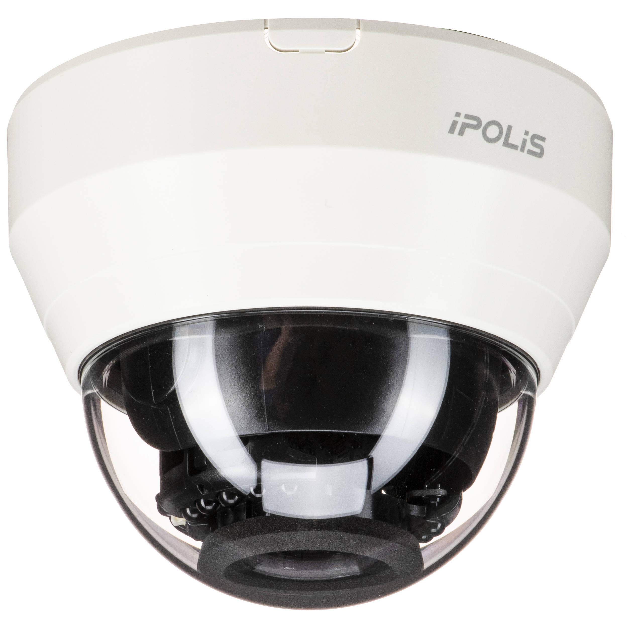 Hanwha Techwin WiseNet Lite Series 2MP Full HD Network IR Dome Camera with  2 8 to 12mm Lens (Ivory)