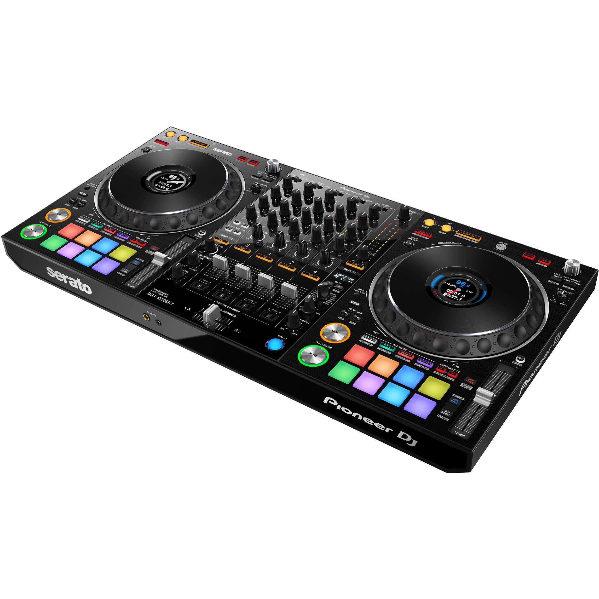 Pioneer DJ DDJ-1000SRT 4-Channel Serato DJ Controller with Integrated Mixer