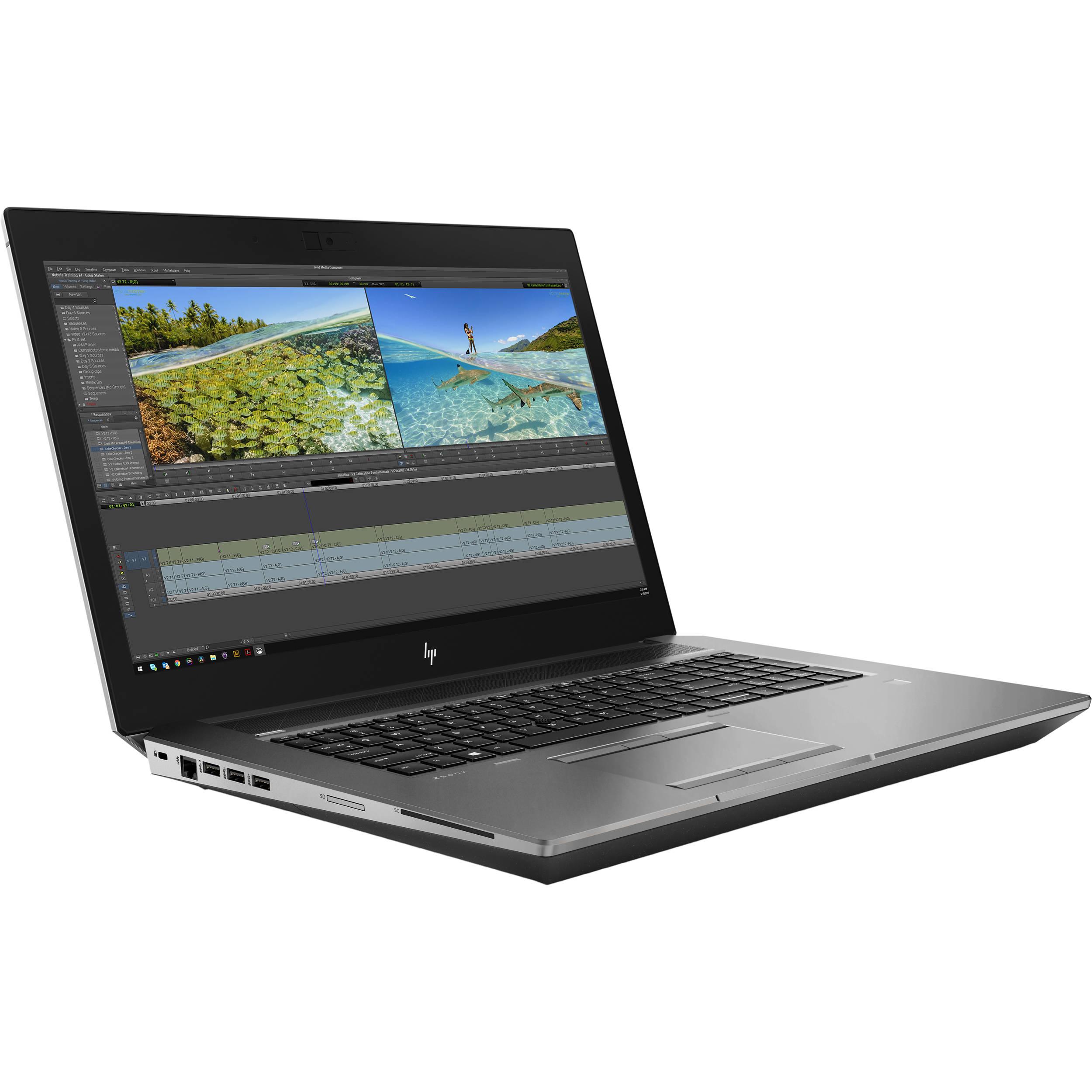 "مشخصات، قیمت و خرید لپ تاپ HP ZBook 17 G6 17.3""i9-9880H VPro RTX5000 16GB BestLaptop4u.com"
