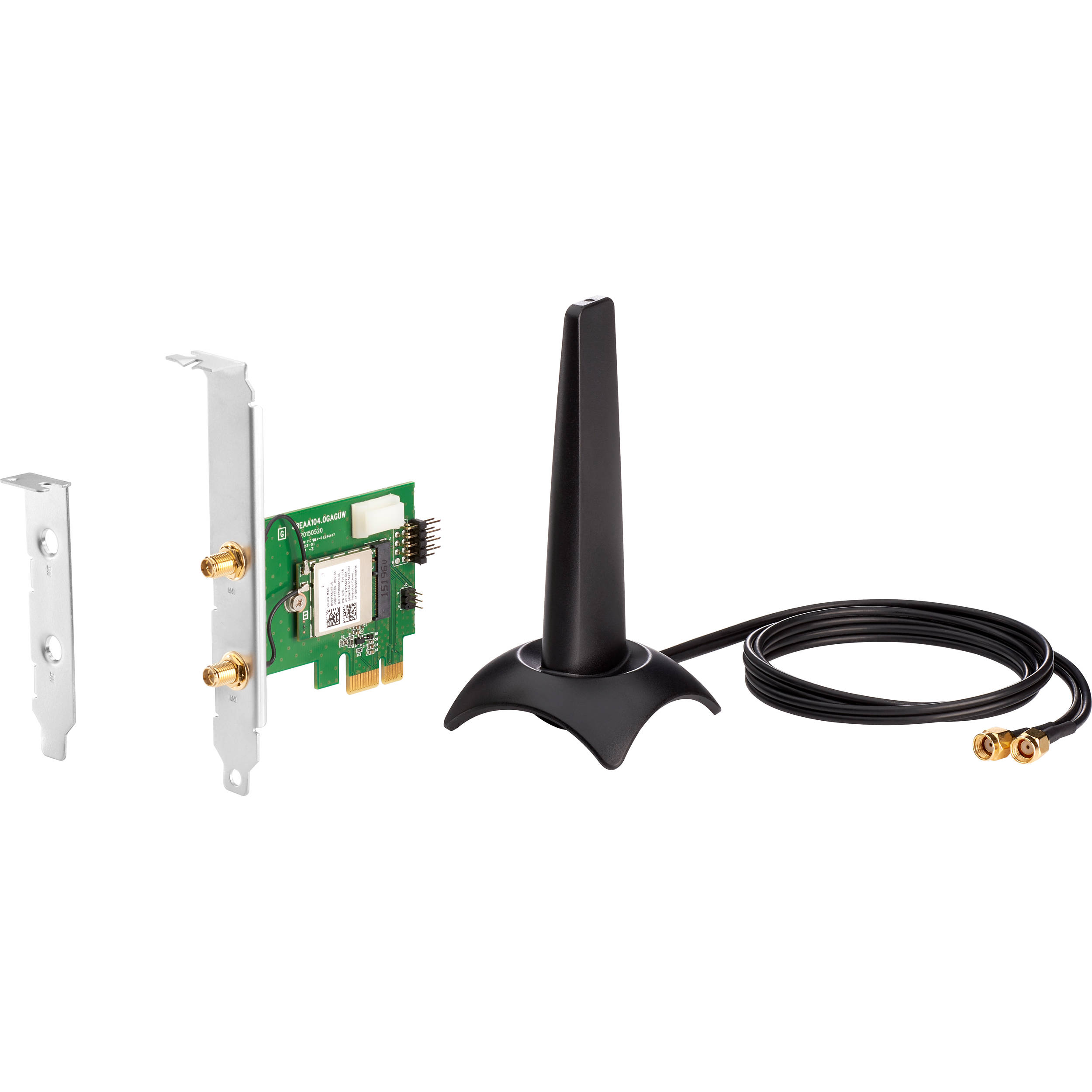 HP Realtek 8822BE Wi-Fi 5 (802 11ac) PCIe x1 Wi-Fi Adapter with Antenna