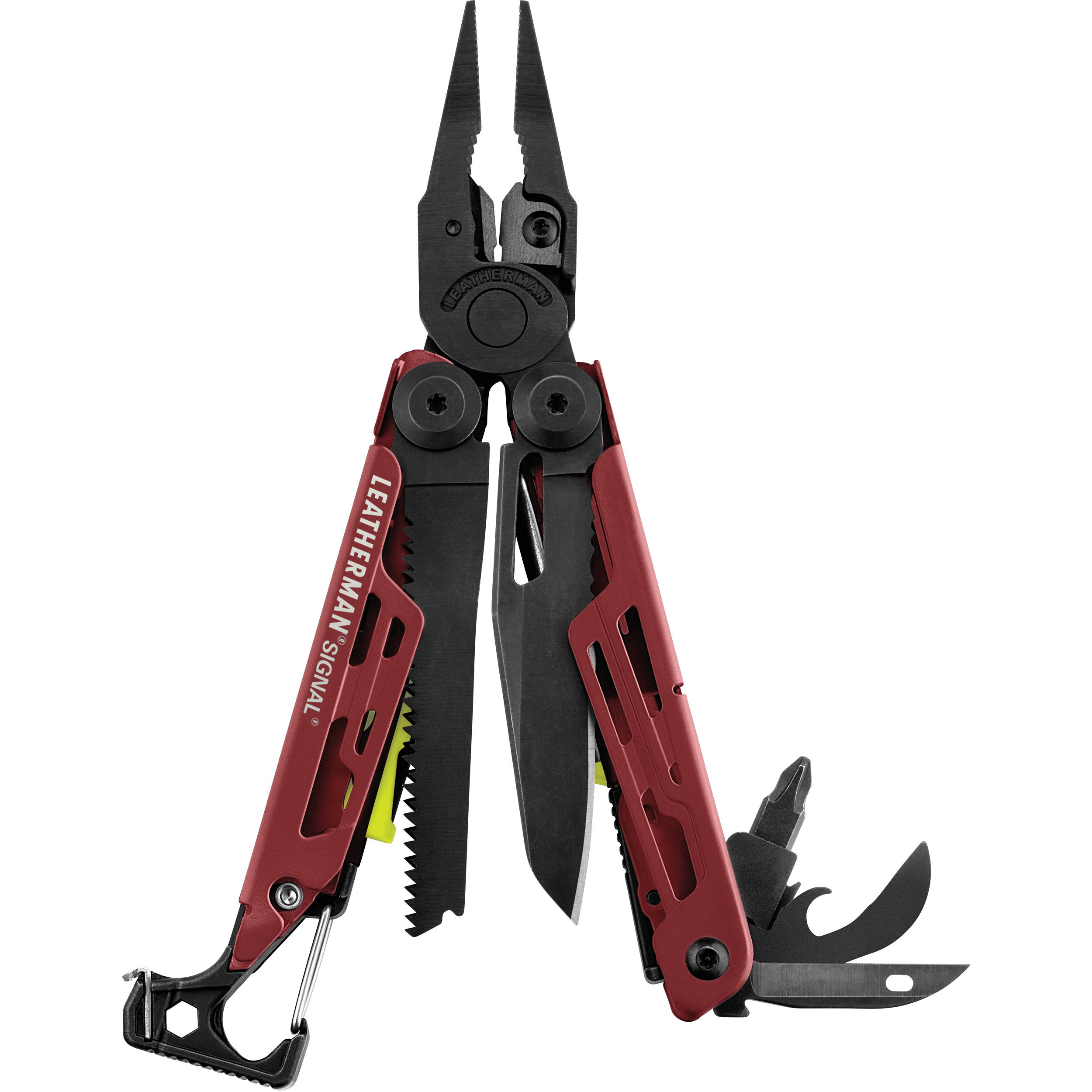 Leatherman Signal Multi-Tool with Black Nyl 832743 B&H Photo