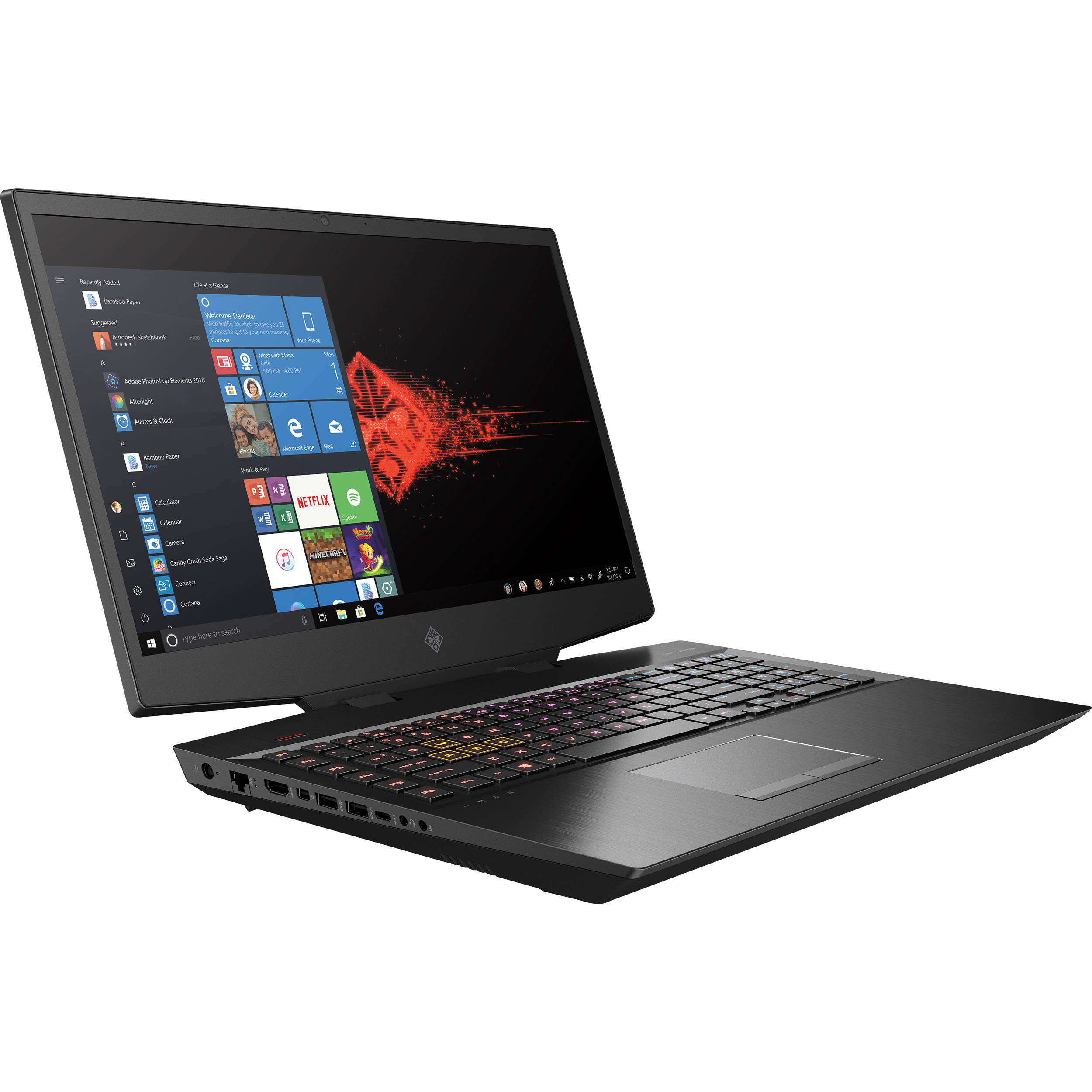 HP OMEN/i7-9750H/16GB/1TB+256GB SSD/GTX RTX 2060/W10H/17 3