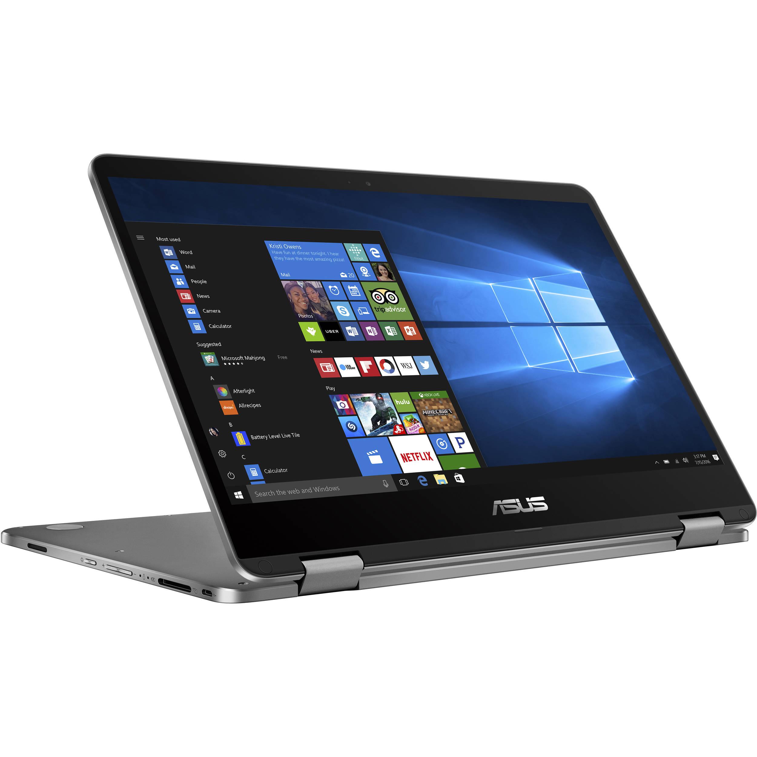 ASUS Vivabook Flip/ N4000/4GB/ 64GB EMMC/ Windows 10 Home S/14