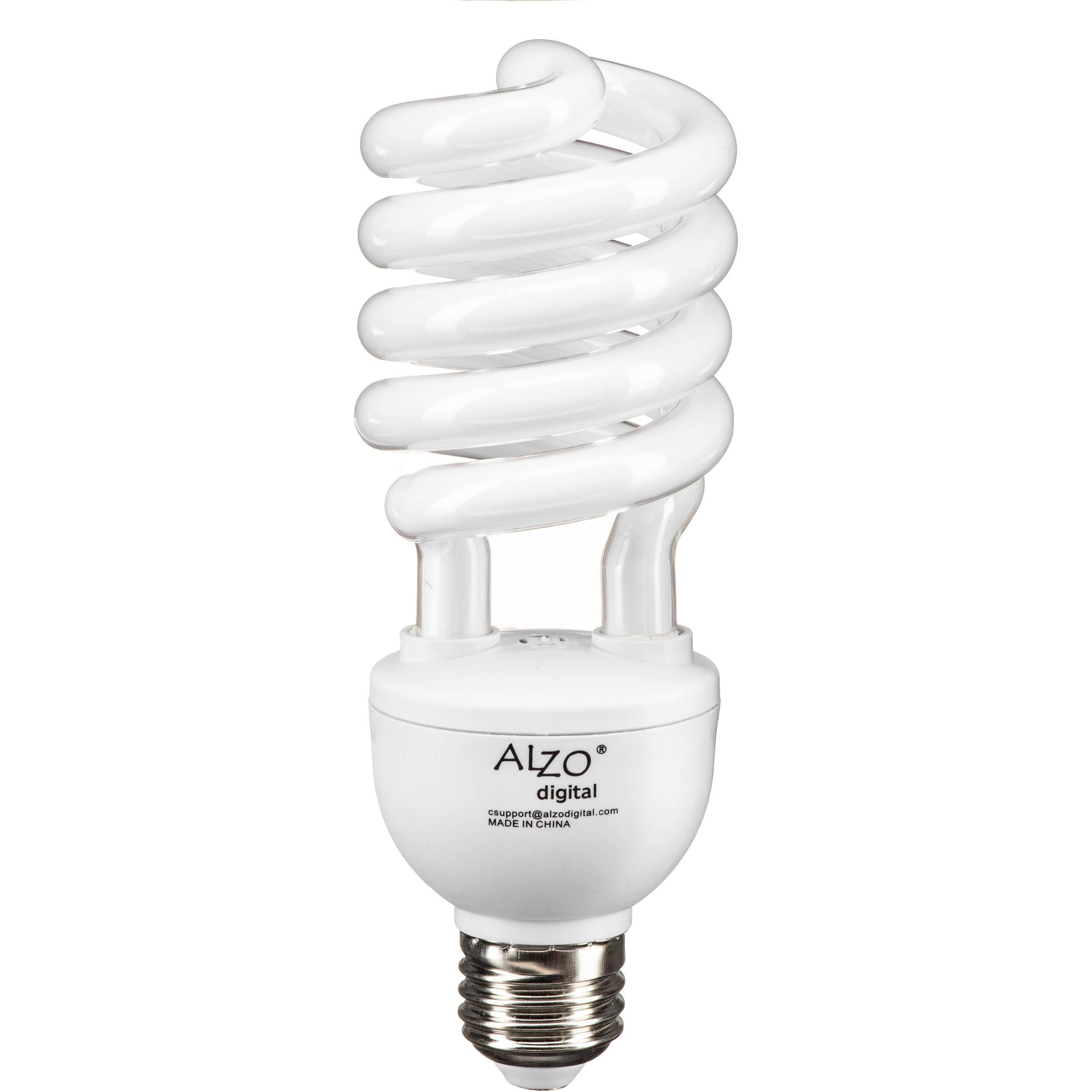 Alzo Cfl Video Lux Photo Light Bulb 27w 120v