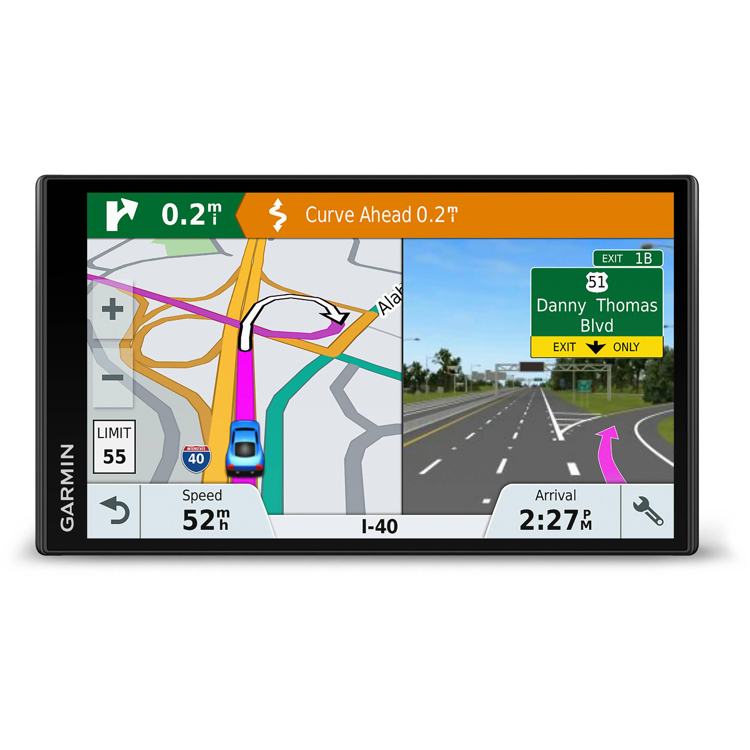 Garmin DriveSmart 61 LMT-S Navigation System (North America Maps, Traffic on map of central america, world map central america, large map central america, large map of latin america,