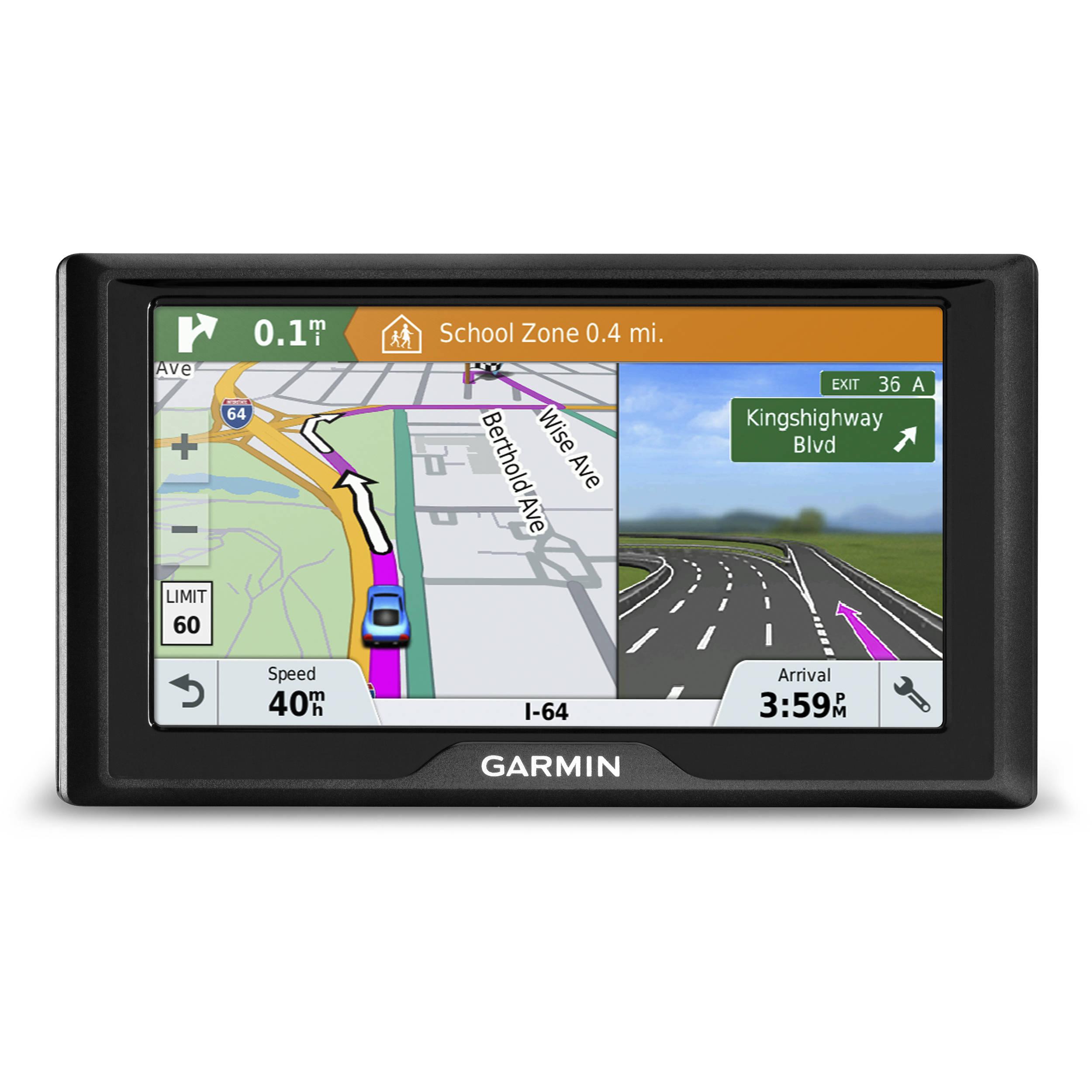 Canada Map Garmin Garmin Drive 61 LM Navigation System 010 01679 06 B&H Photo Video