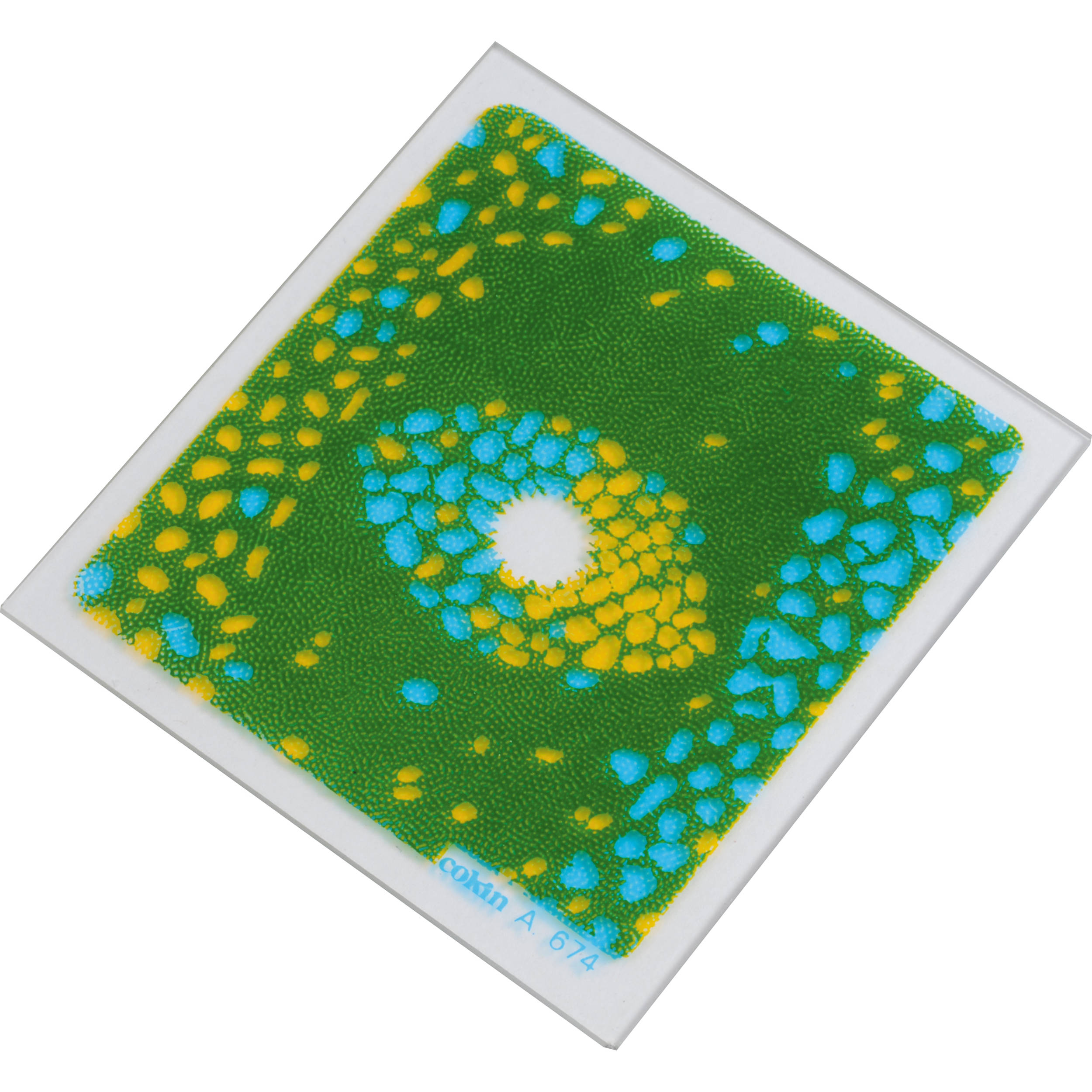 Blue//yellow Bi-color C.sp Cokin A674 Filter A