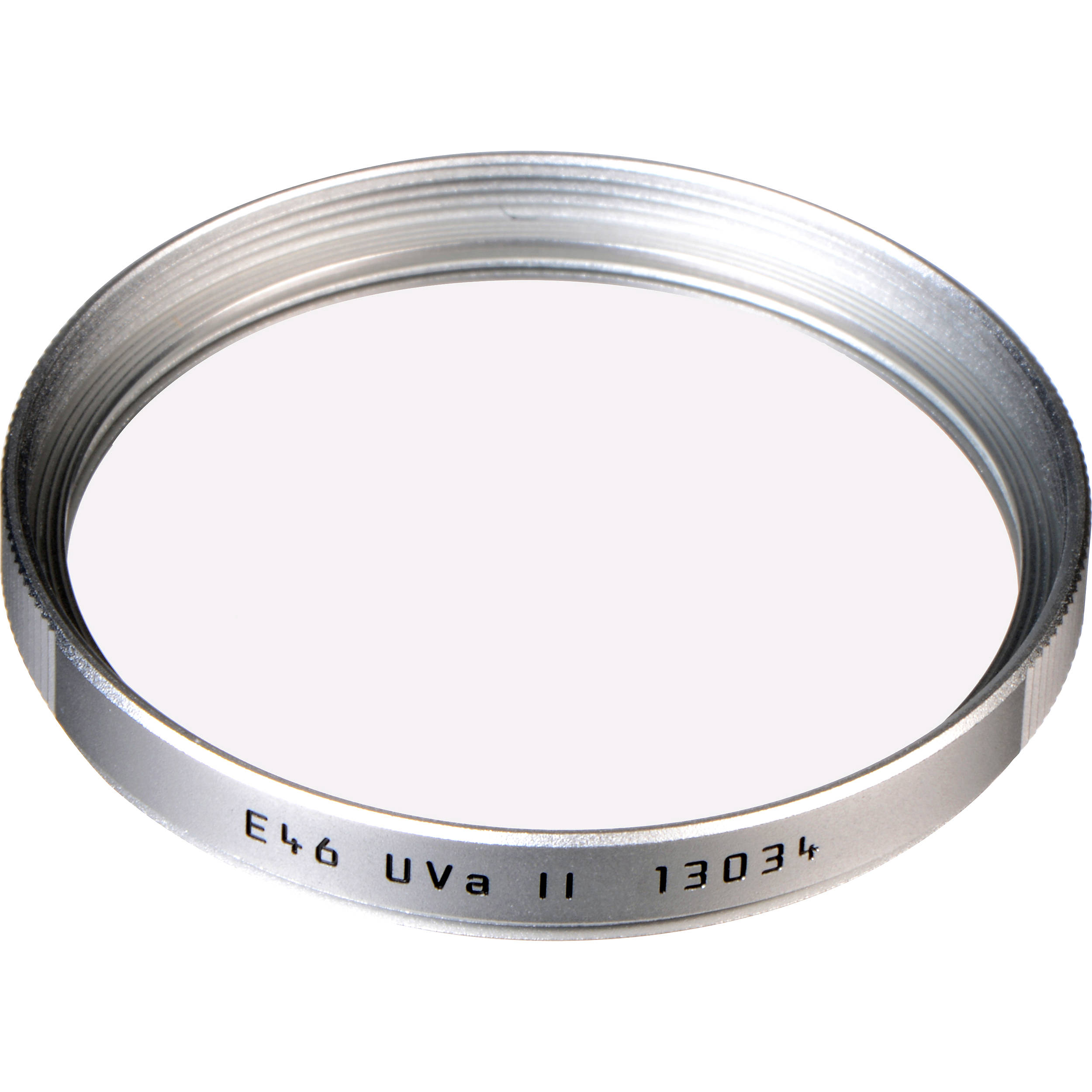 UV Leica 46E Ultra Violet Glass Filter with Silver Mount