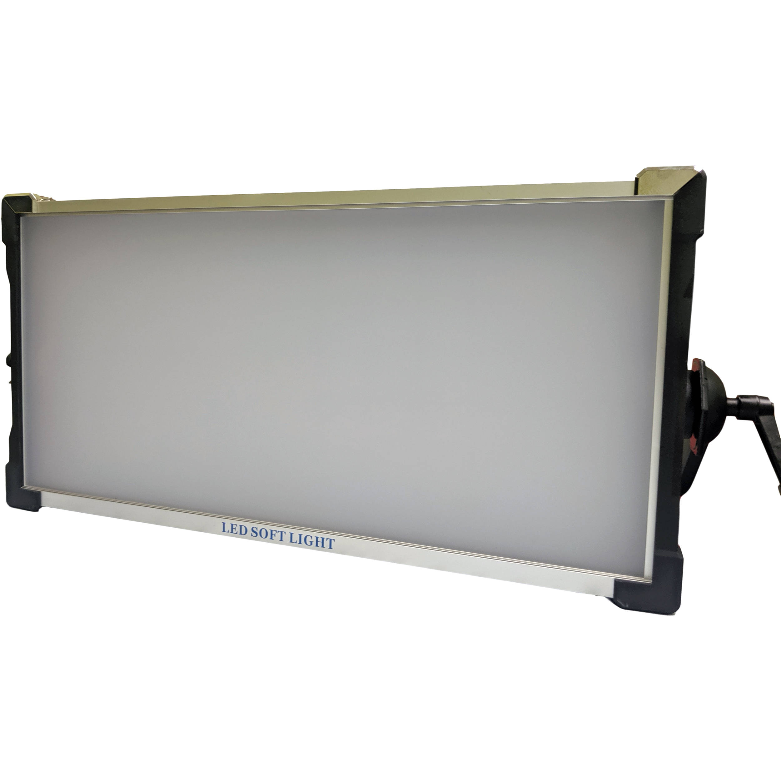 Trigyn Vari Light Rgb W Led 2x1 Soft Lighting Panel With Gold Mount Battery Plates