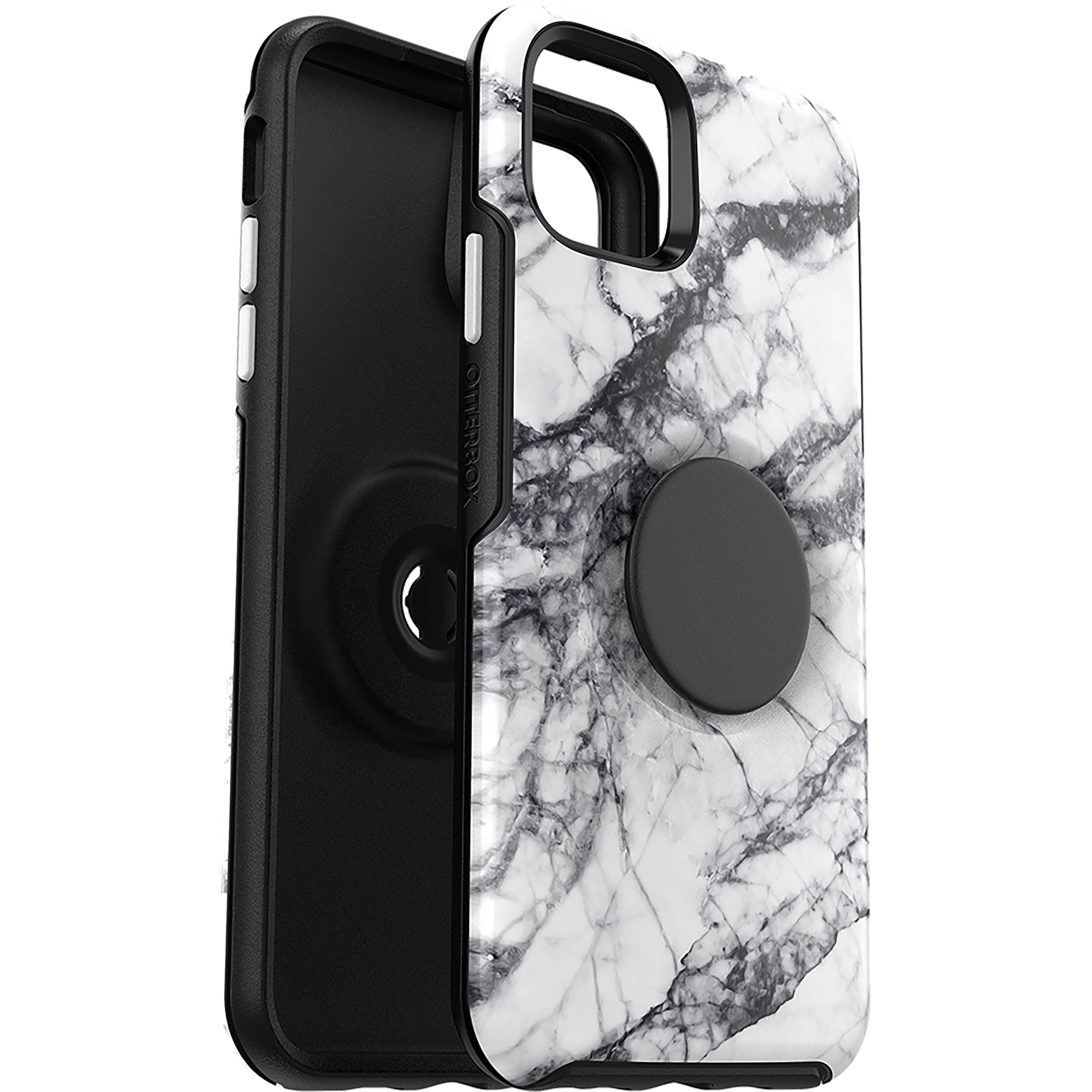 OtterBox Otter + Pop Symmetry Series Case for iPhone 11 Pro Max (White  Marble)