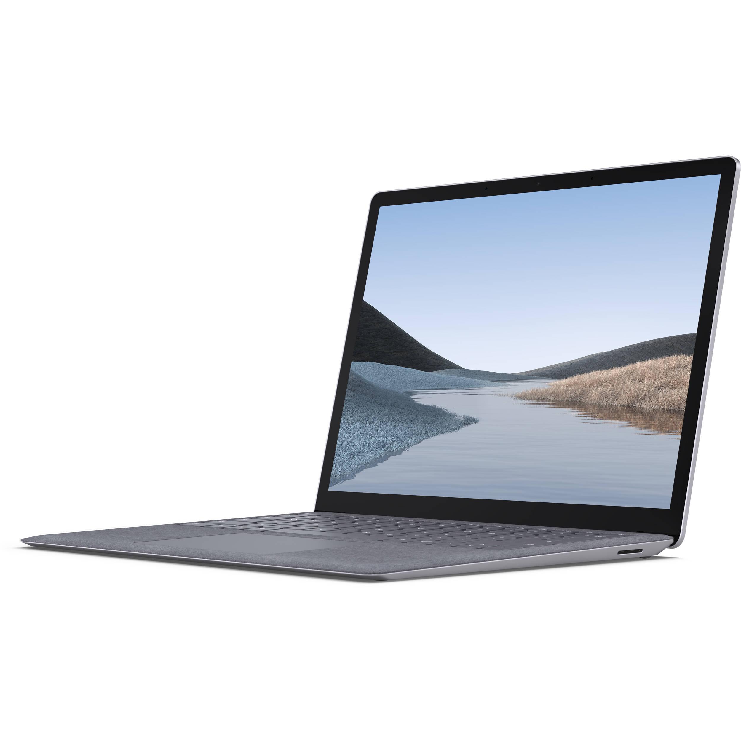 Laptop surface