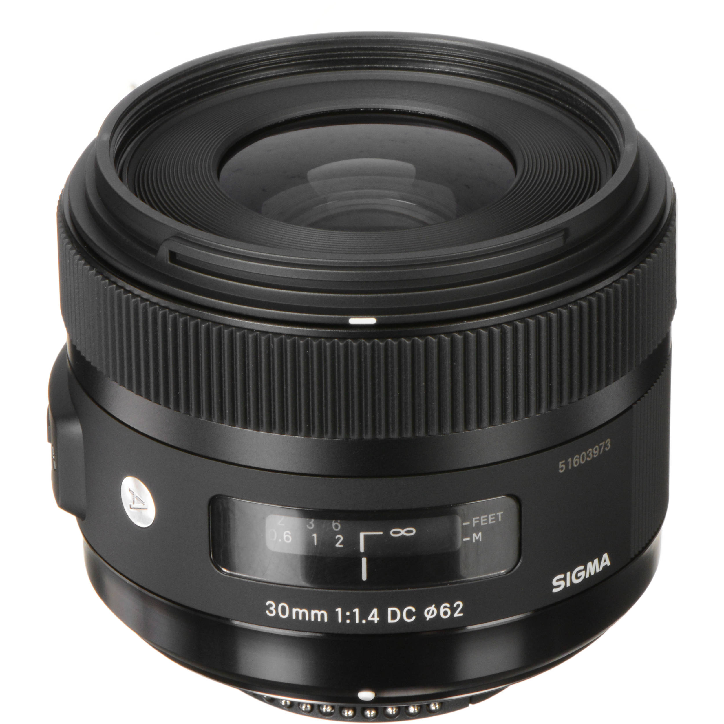 Sigma 30mm f/1 4 DC HSM Art Lens for Nikon F