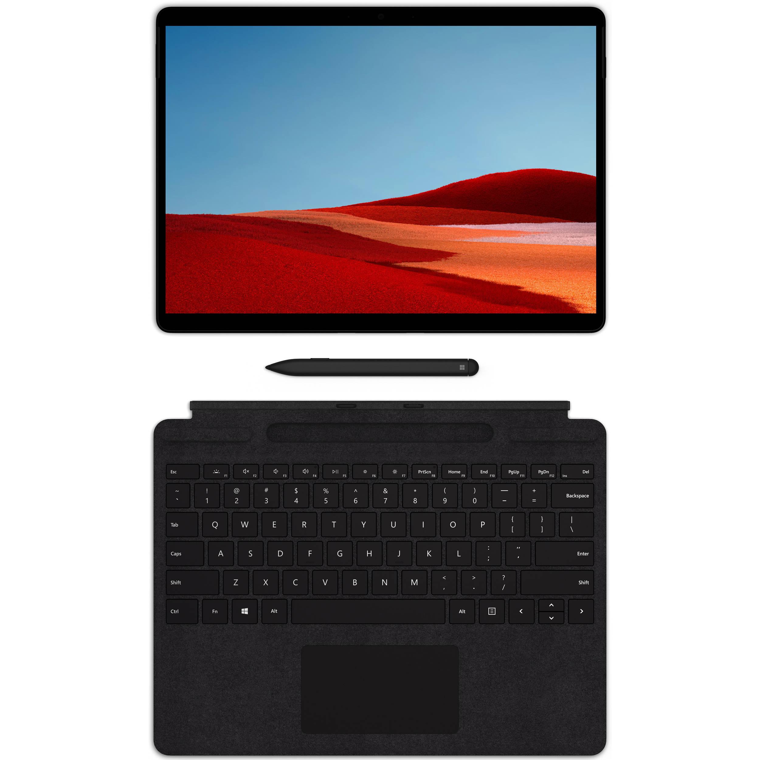 Microsoft 13 Multi Touch Surface Pro X Qwz 00001 B H
