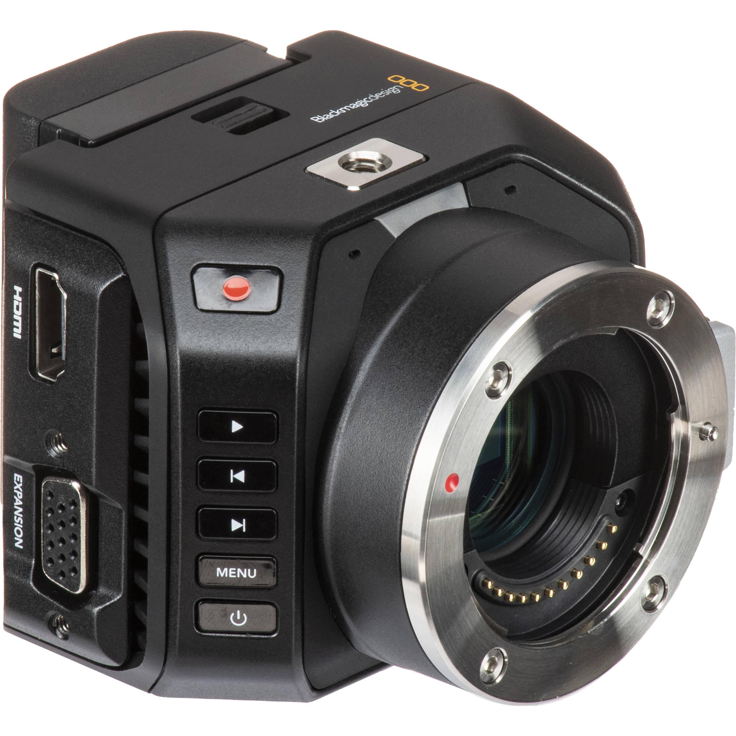 Blackmagic Design Micro Cinema Camera Cinecammichdmft B H Photo