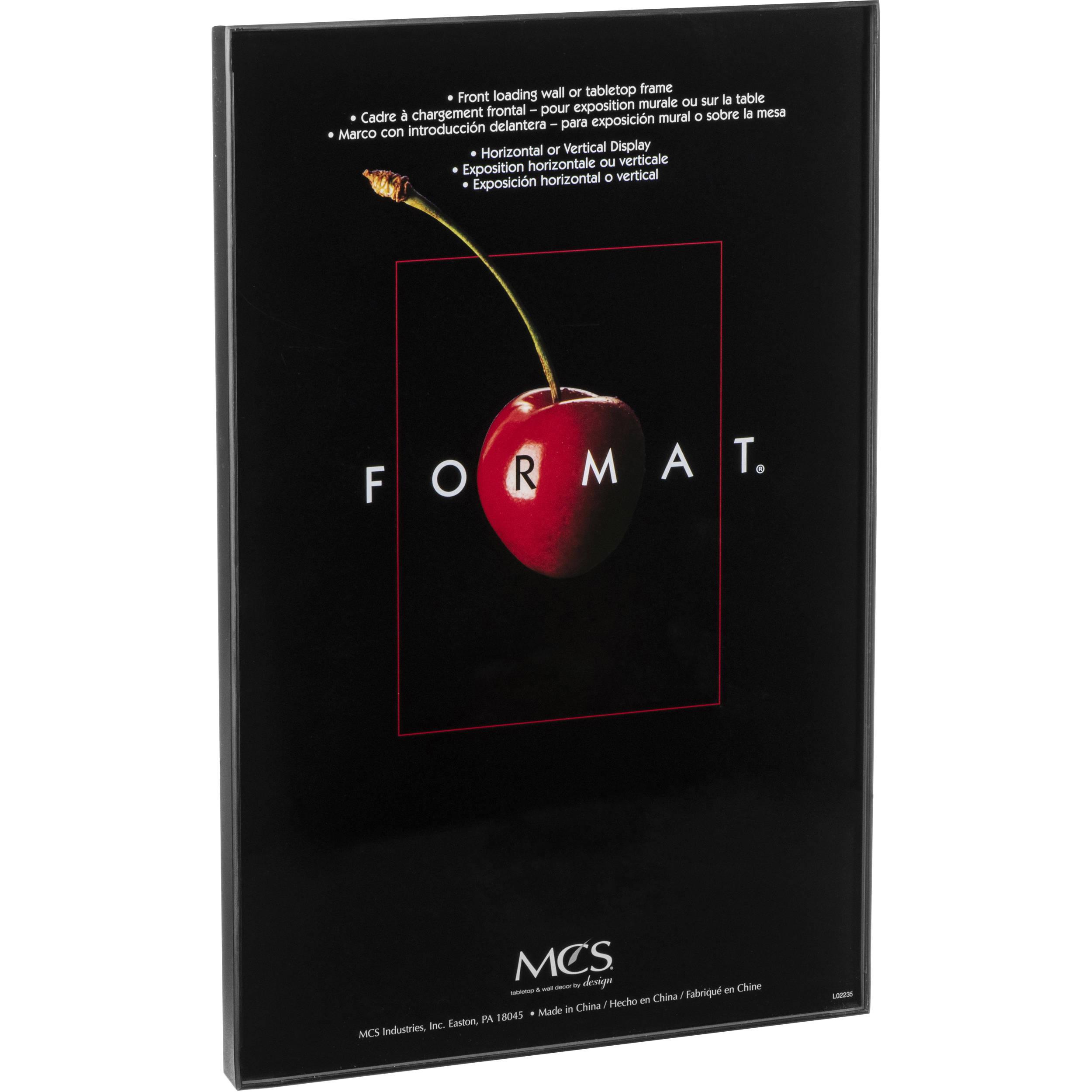 Mcs Format Frame 11 X 17 Black