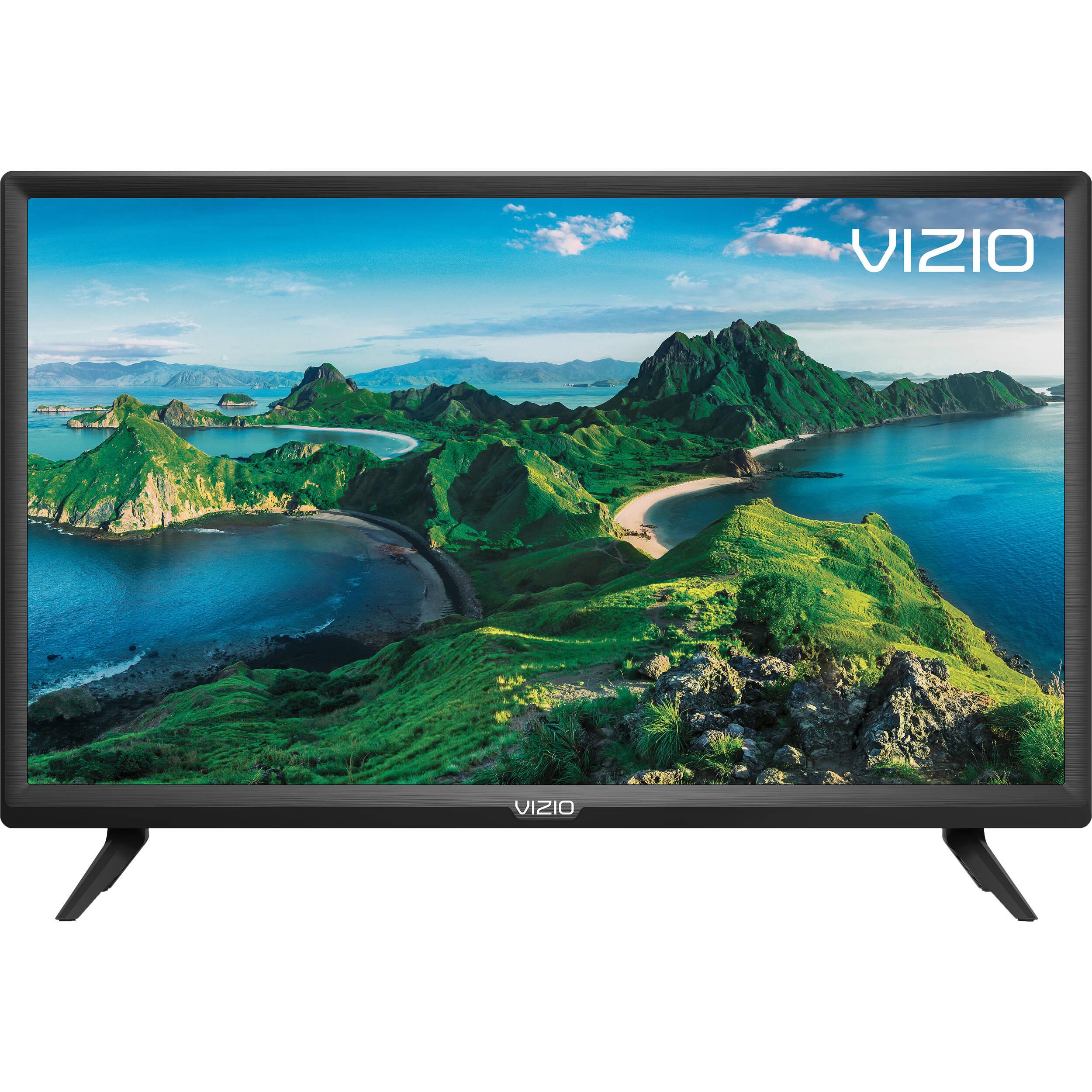 "Smart HDTV VIZIO LED D-Series 1080p 24/"" Class"