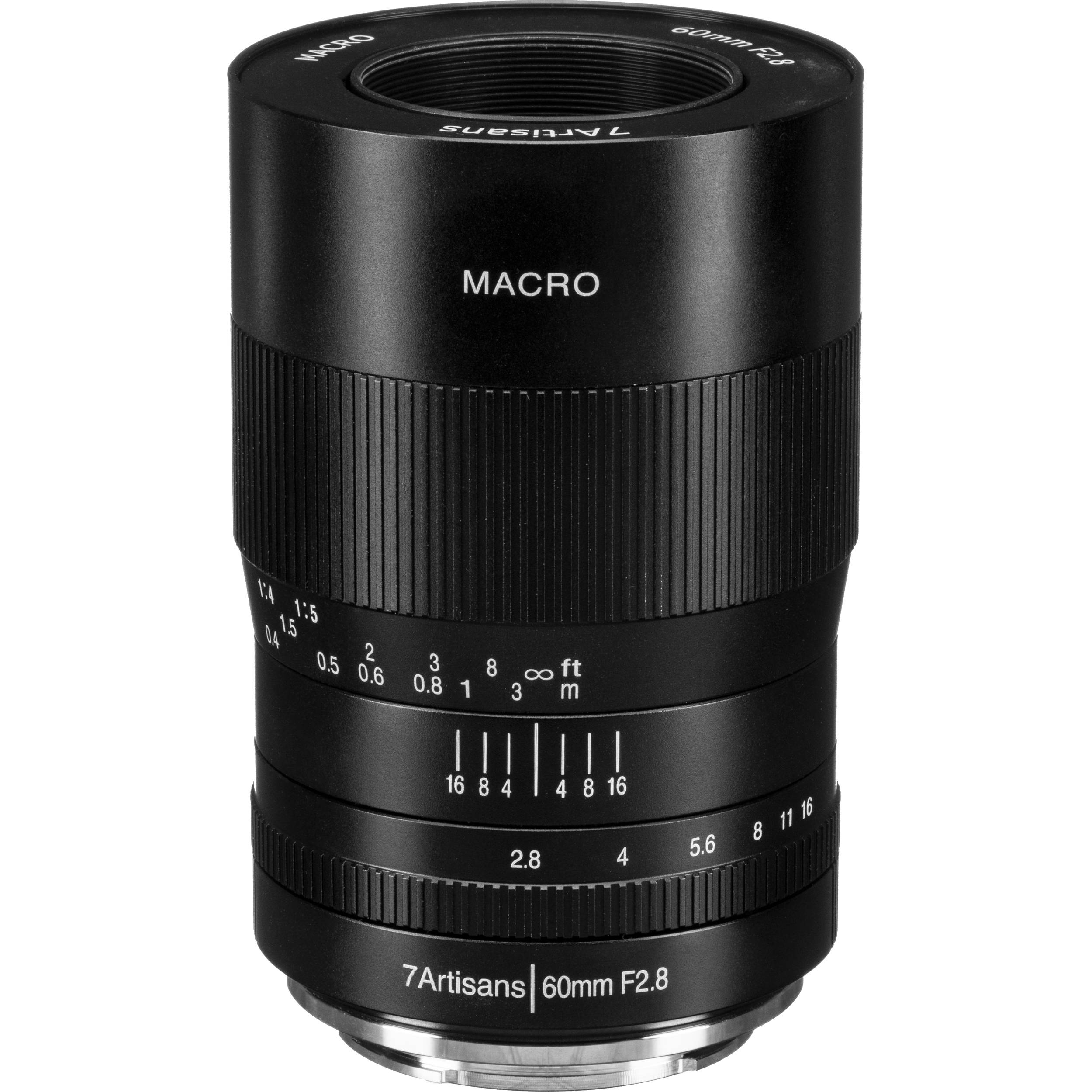 7artisans 60mm F2.8 APS-C Fixed Macro Lens for Nikon Z-Mount Mirrorless Cameras Manual Focus for Macro Photography