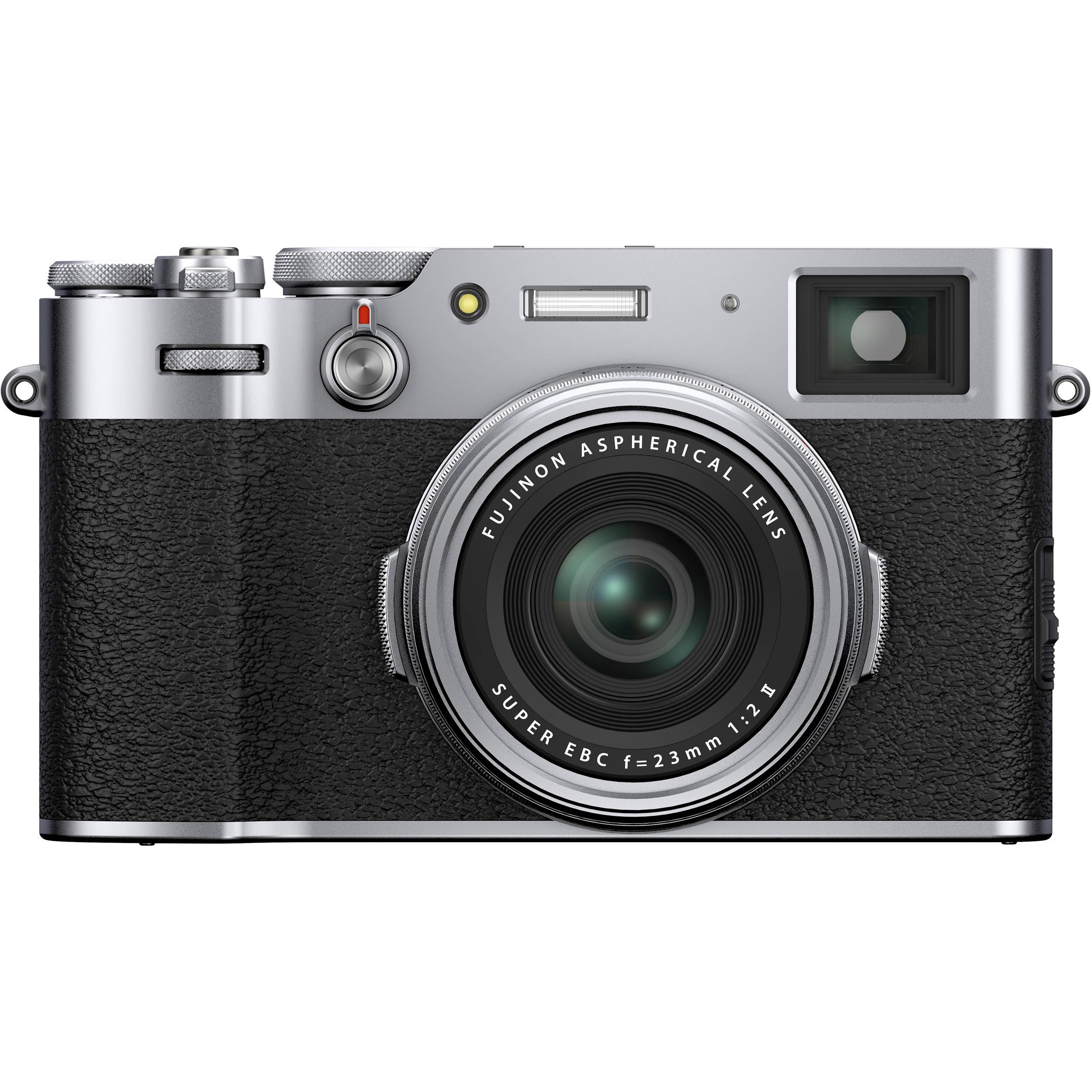 FUJIFILM X100V Digital Camera (Silver - X100V Camera Body) B&H Photo