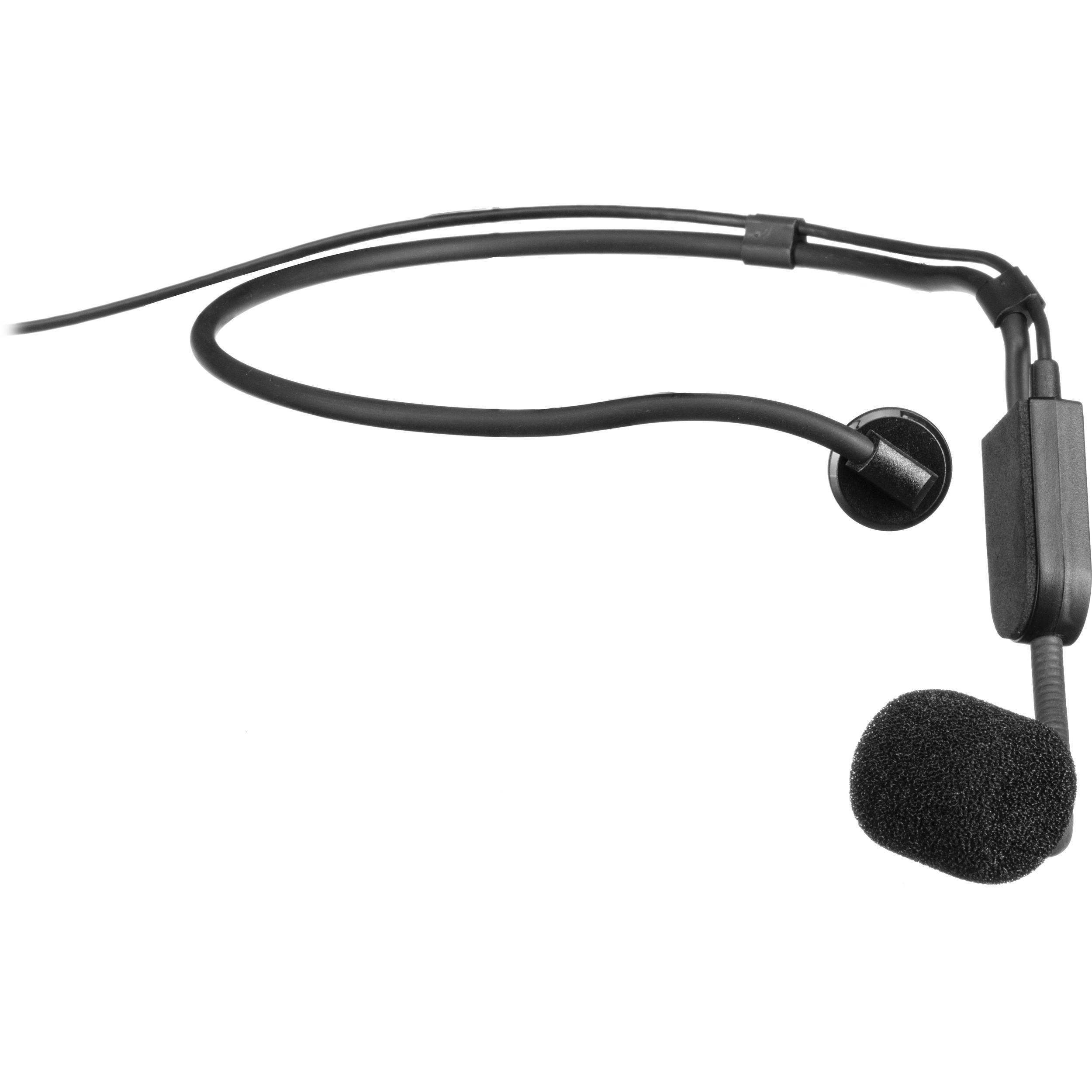 Shure Pga31 Cardioid Headset Microphone Pga31 Tqg B H Photo Video