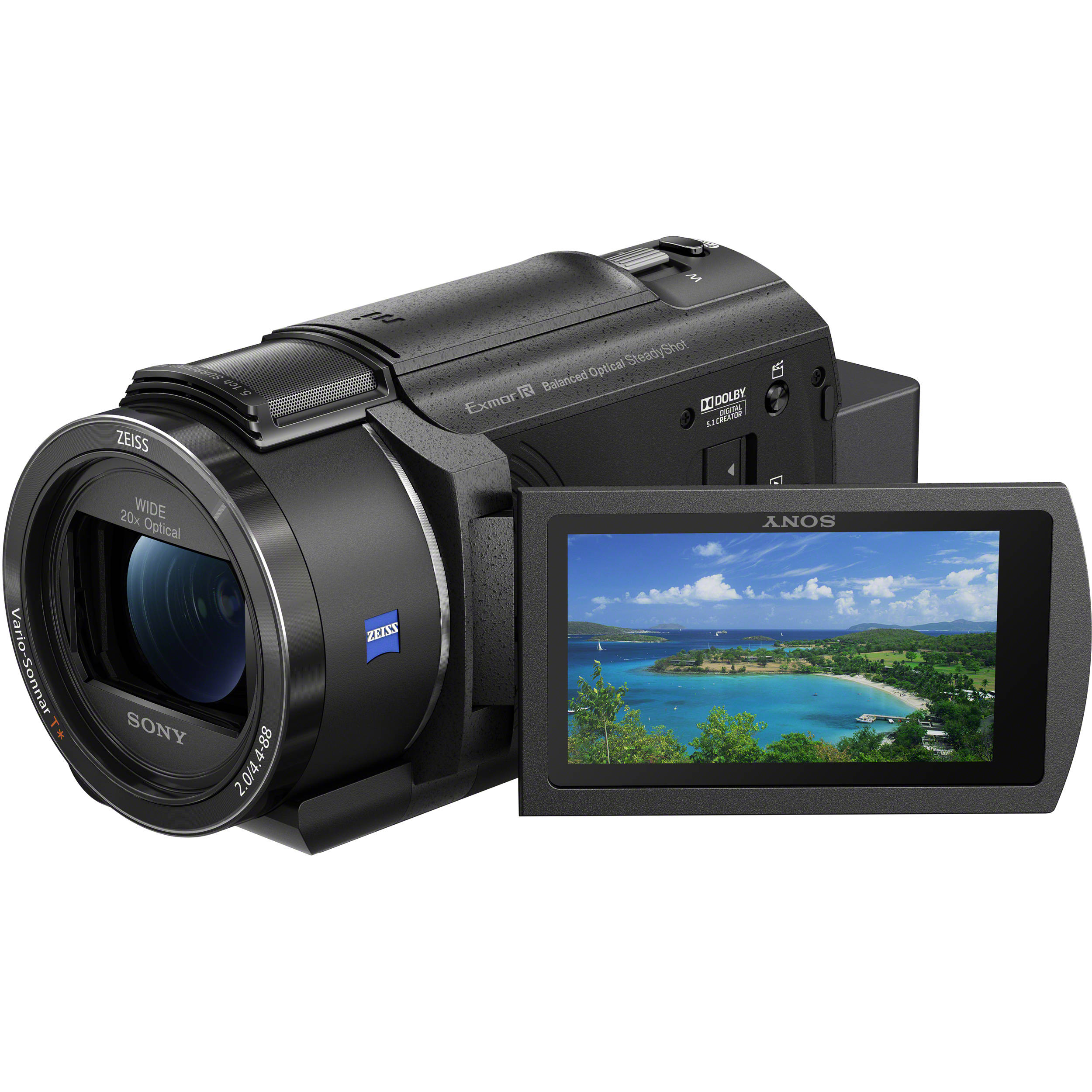 Sony Fdr Ax43 Uhd 4k Handycam Camcorder Fdrax43 B B H Photo Video