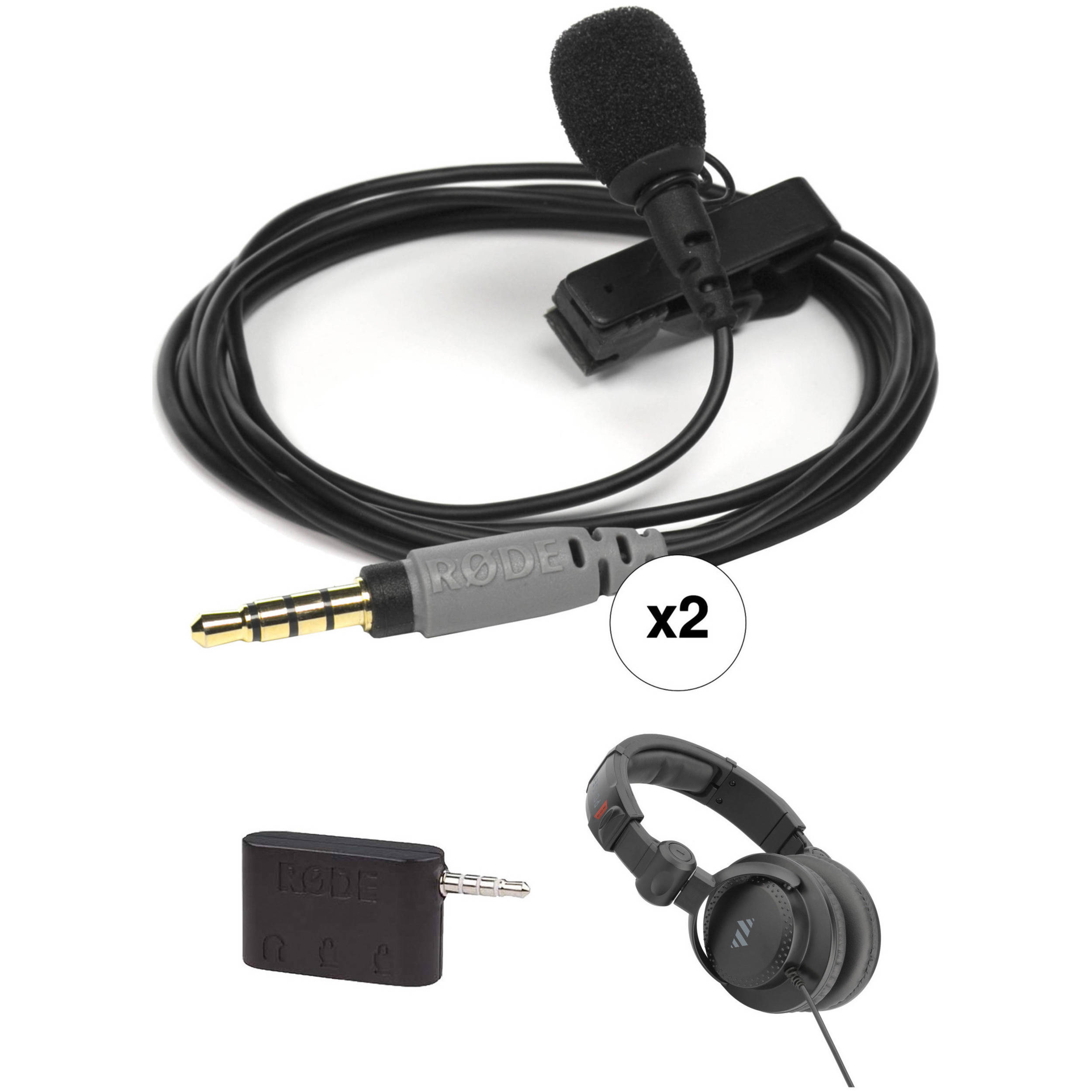 PC Computer Headset to 3.5mm Smartphone Adapter for iPhone Androi