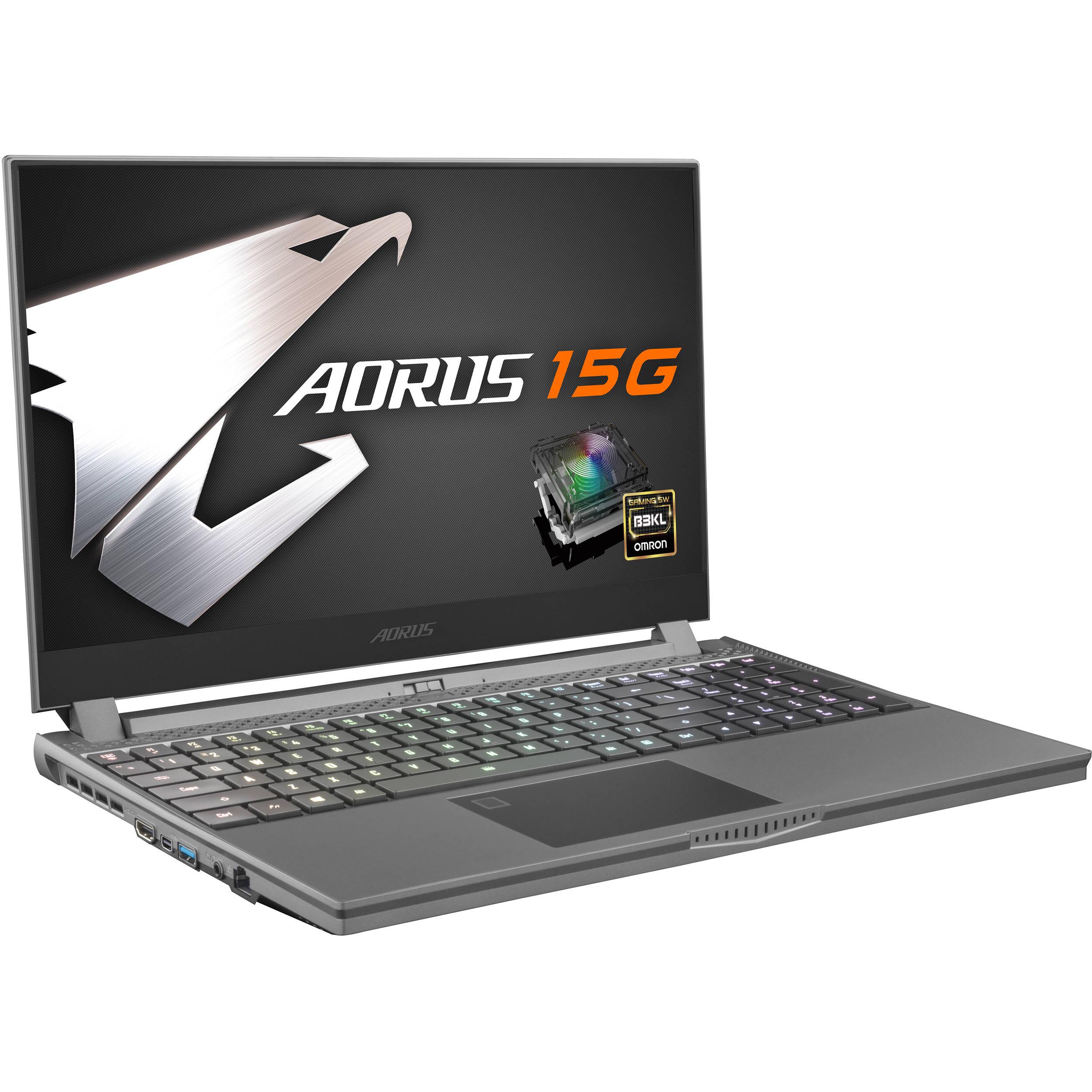 Aorus 15 6 15g Gaming Laptop 15g Kb 8us2130mh B H