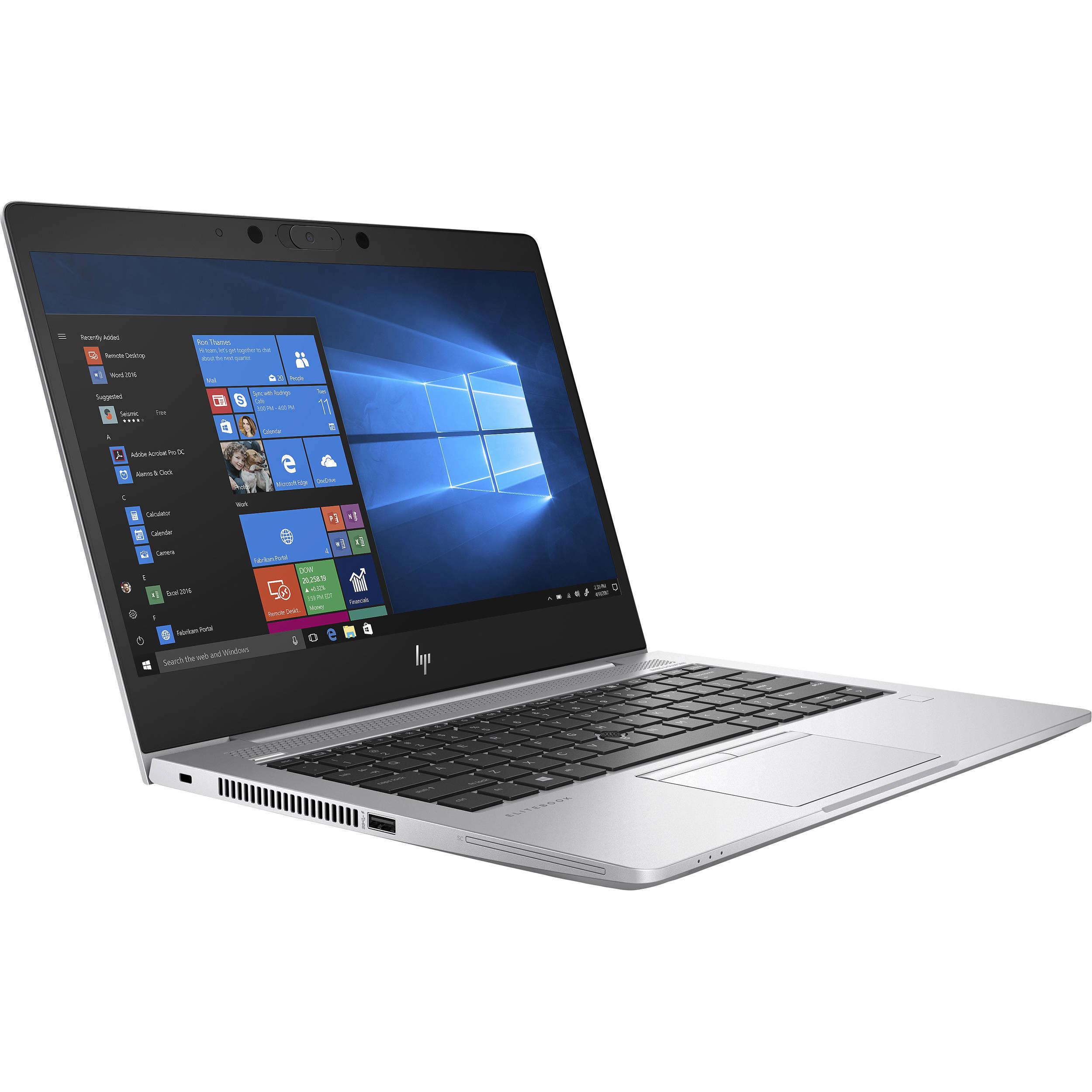 "HP 13.3"" EliteBook 735 G6 Laptop 7RR59UT#ABA B&H Photo"
