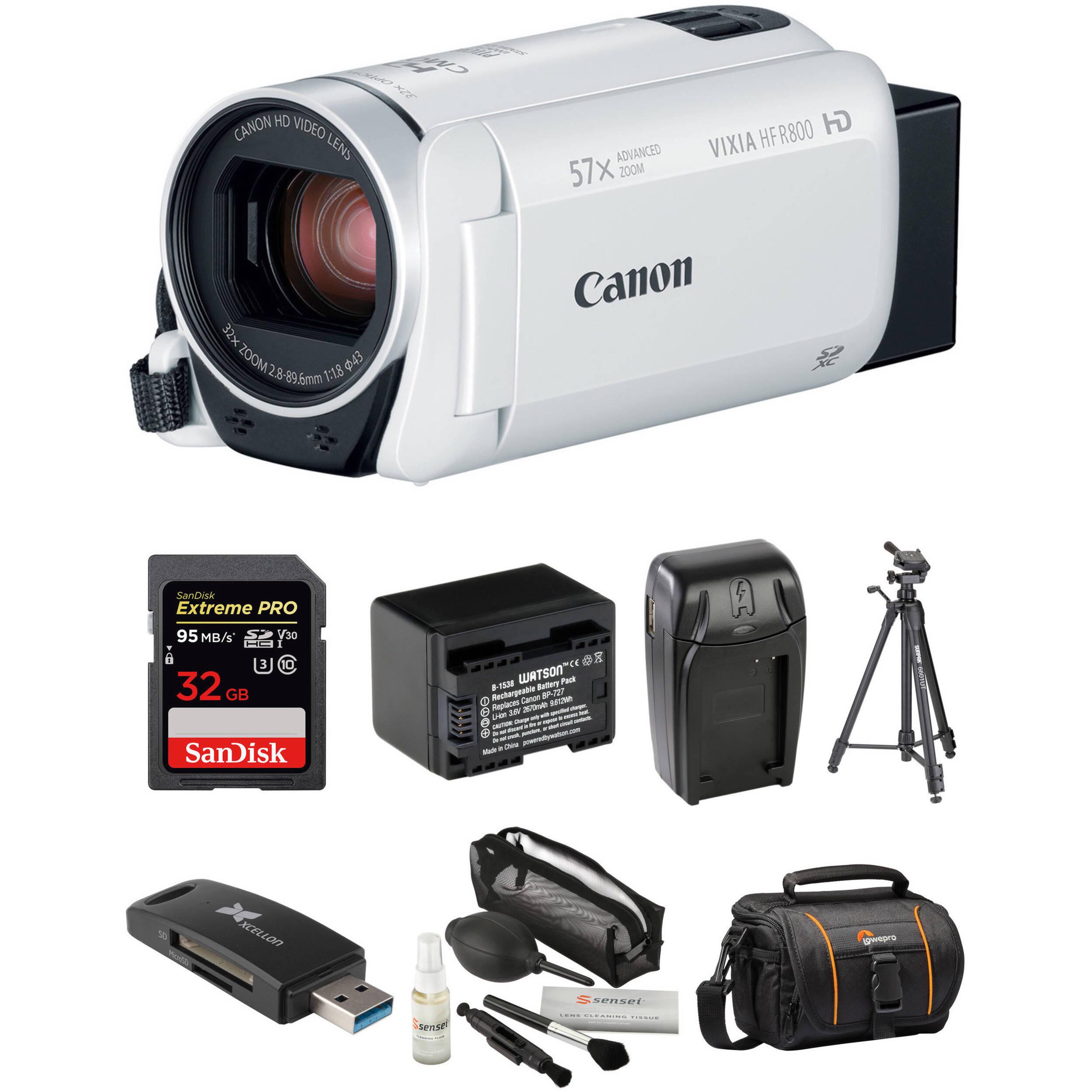 for Canon VIXIA HF S21 Professional Heavy Duty 72 Monopod//Unipod Dual Optional Head