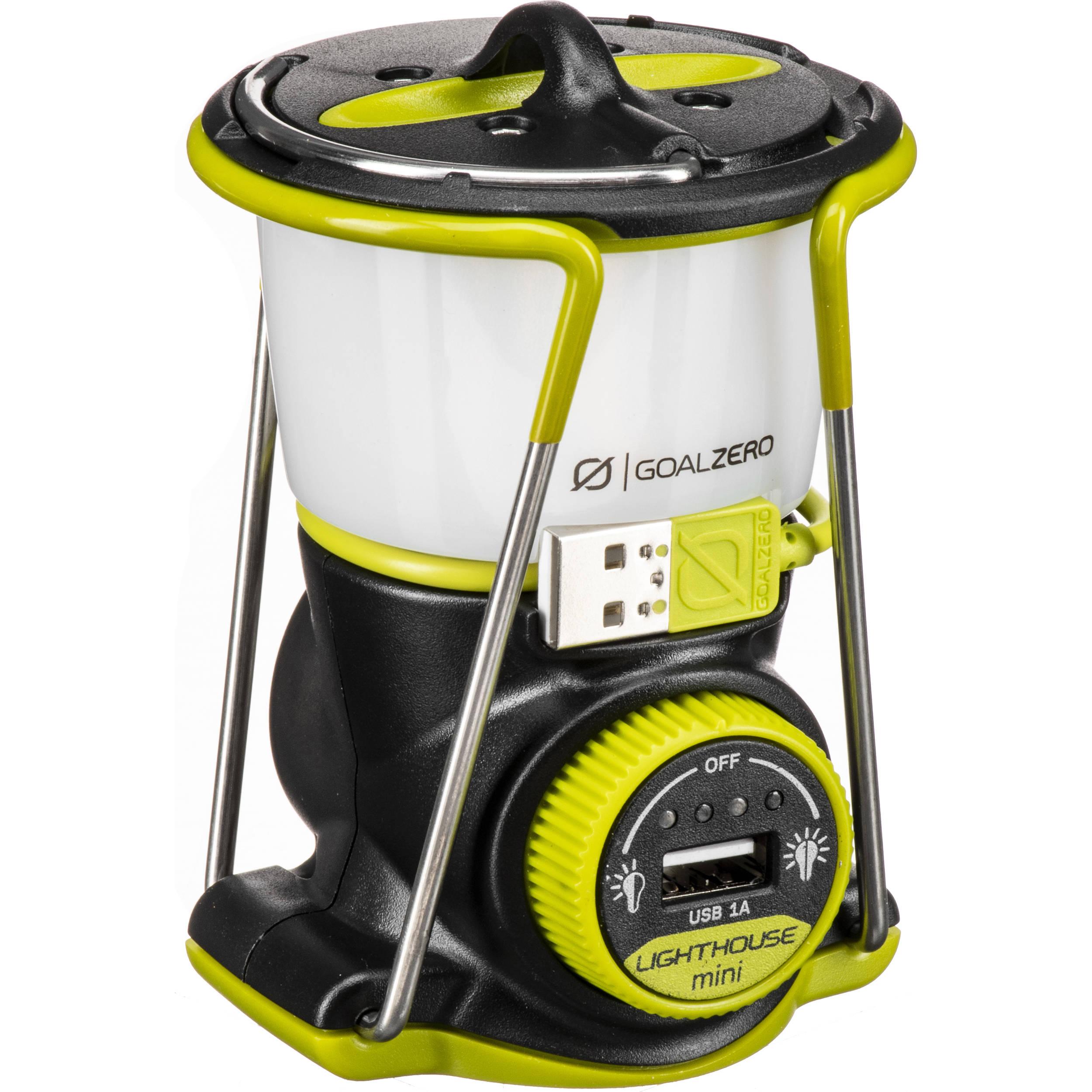 GOAL ZERO Lighthouse Mini Lantern and USB Power Hub 32011 B&H