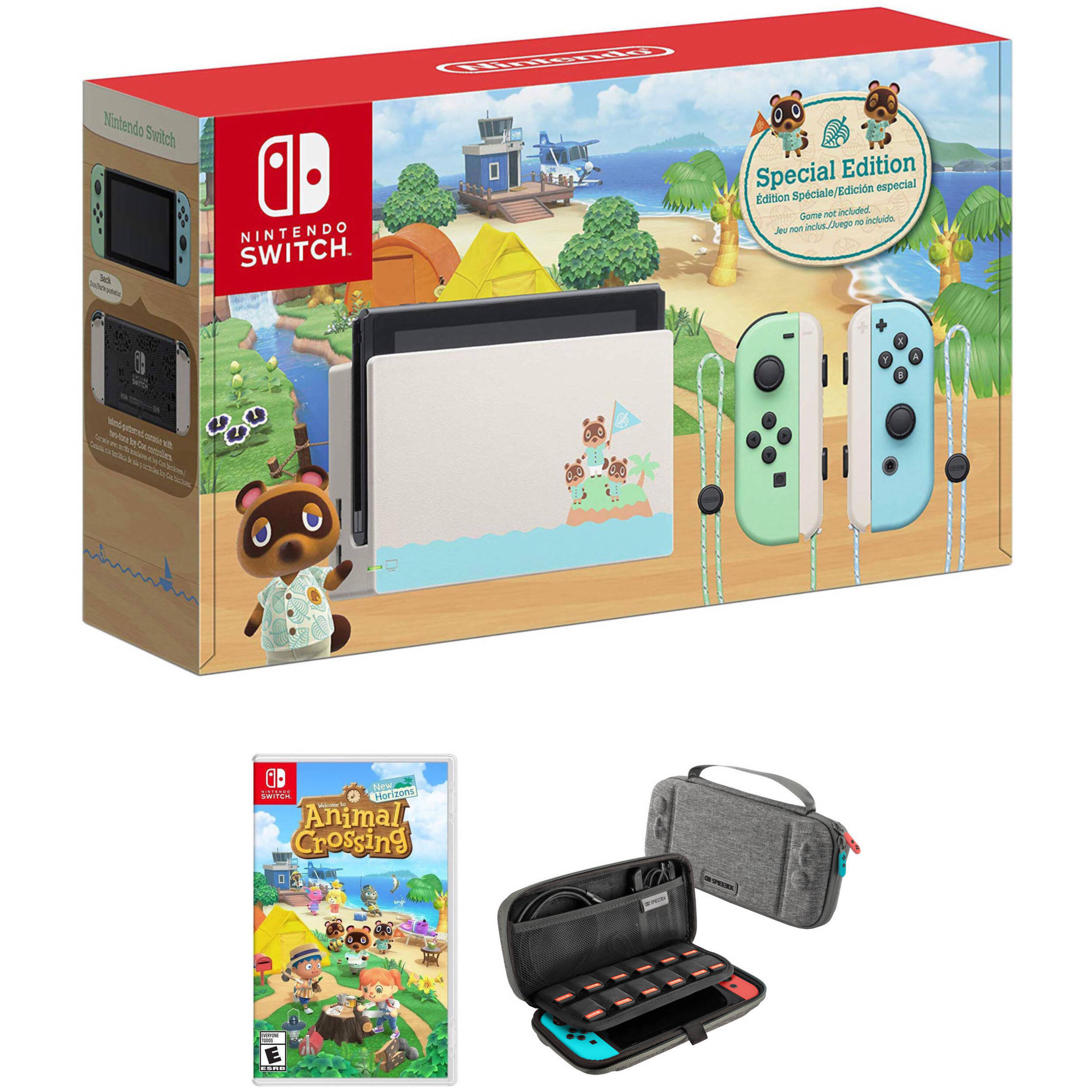 Nintendo Switch Animal Crossing New Horizons Edition Kit B H