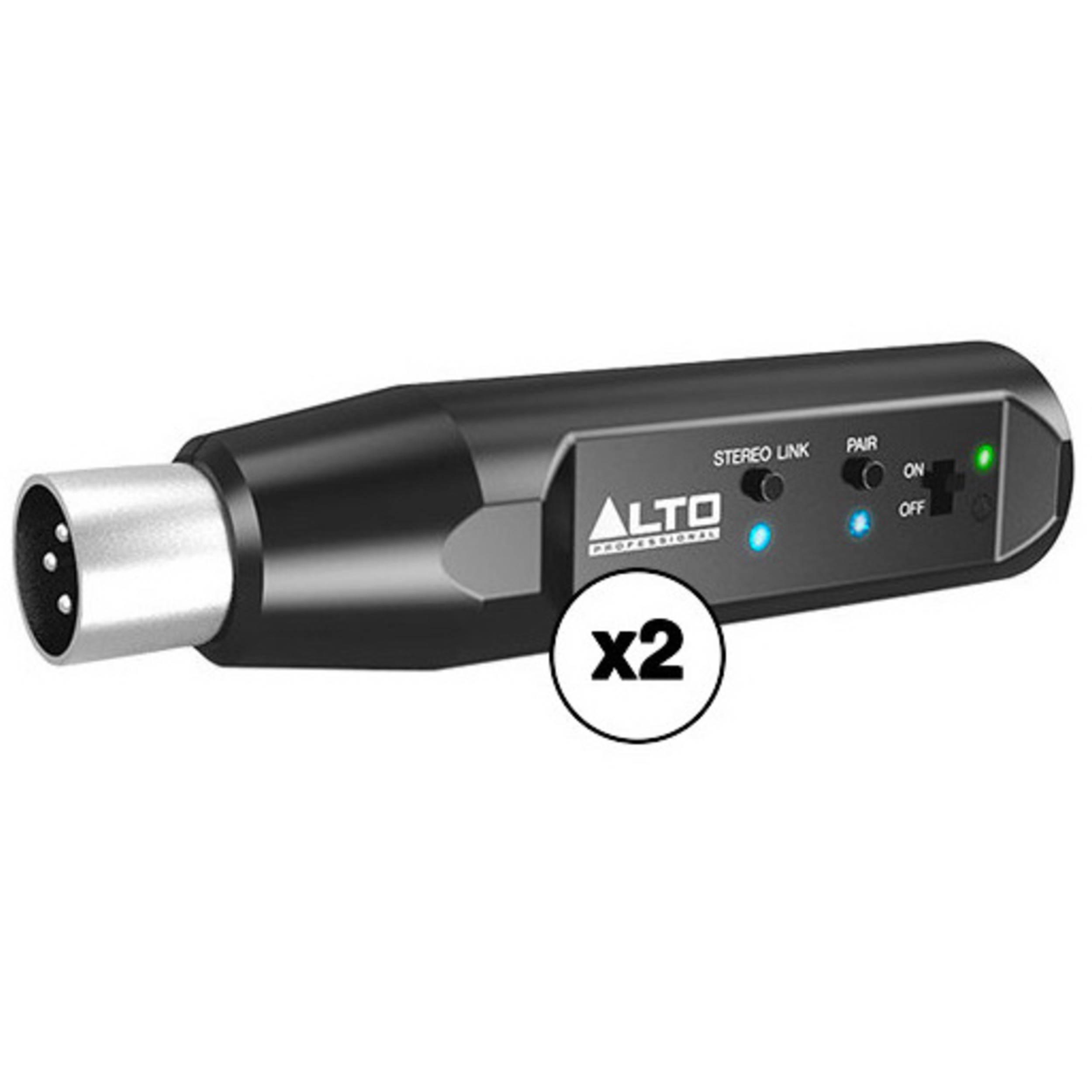 ALTO Professional Bluetooth TotalXLR-Equipped Rechargeable Bluetooth Recei...