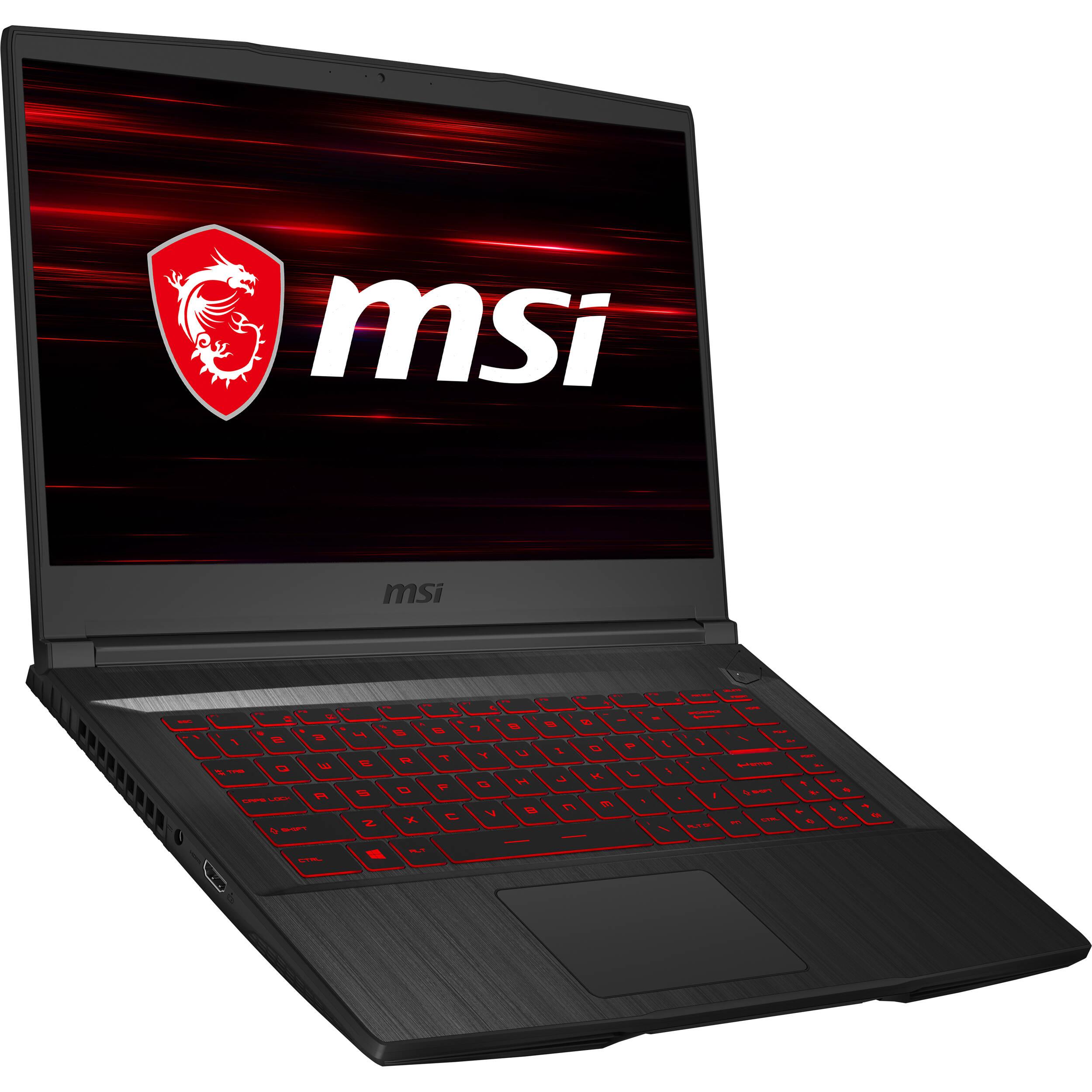 Msi 15 6 Gf65 Thin Gaming Laptop Gf65 Thin 9sexr 838