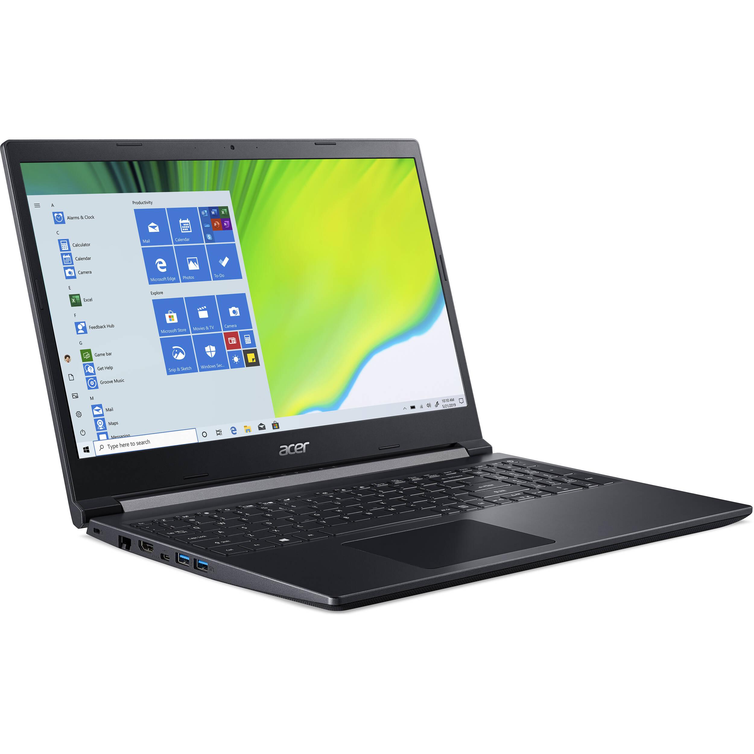 Acer Aspire 7 Laptop 9G/ i5-9300H/ 8Gb/ 512Gb Ssd/ NH.Q81AA.001