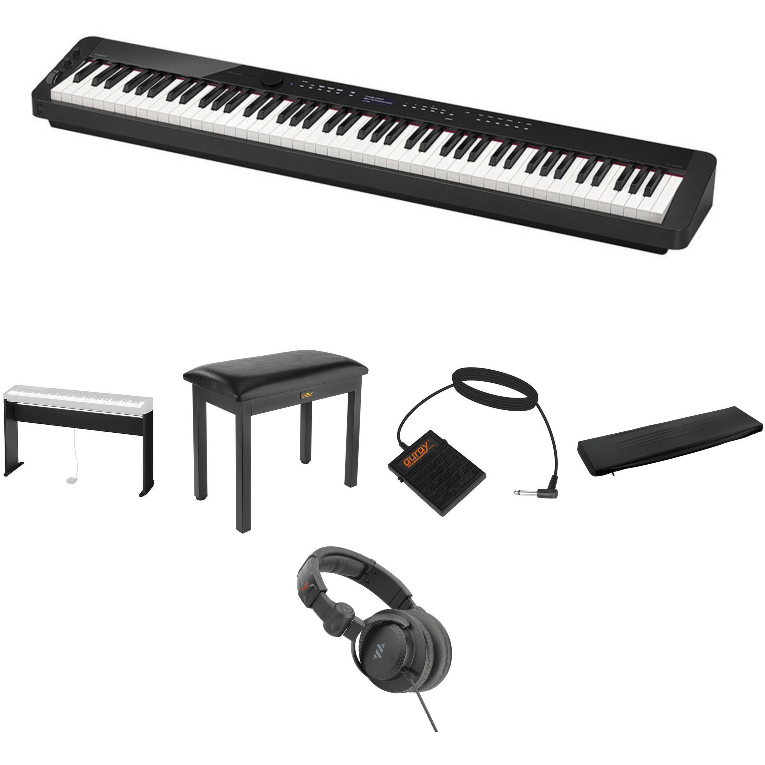 Casio PX-S3000 Digital Piano Standard Home Essentials Kit