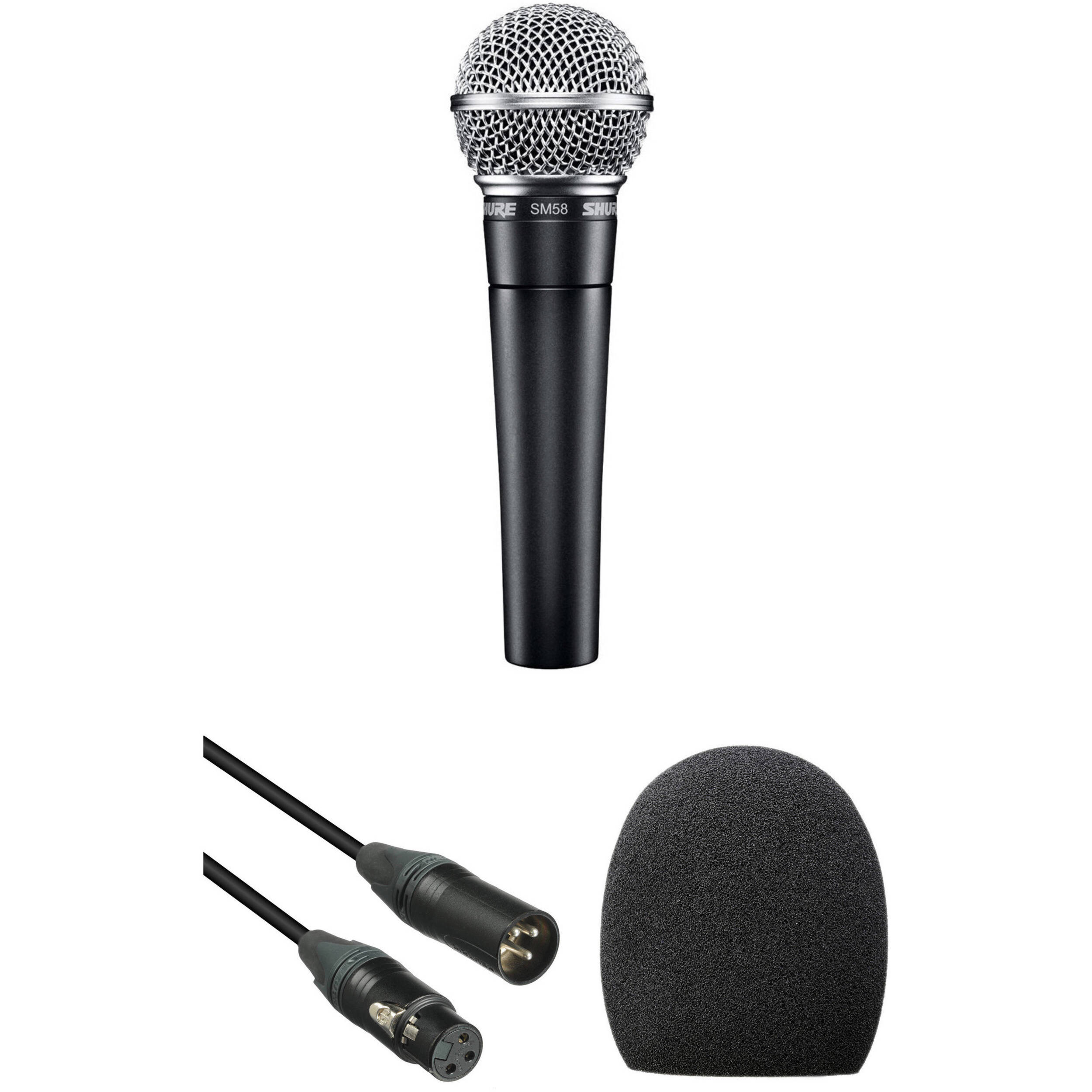 Shure SV100-W Dynamic Cardioid Handheld Microphone