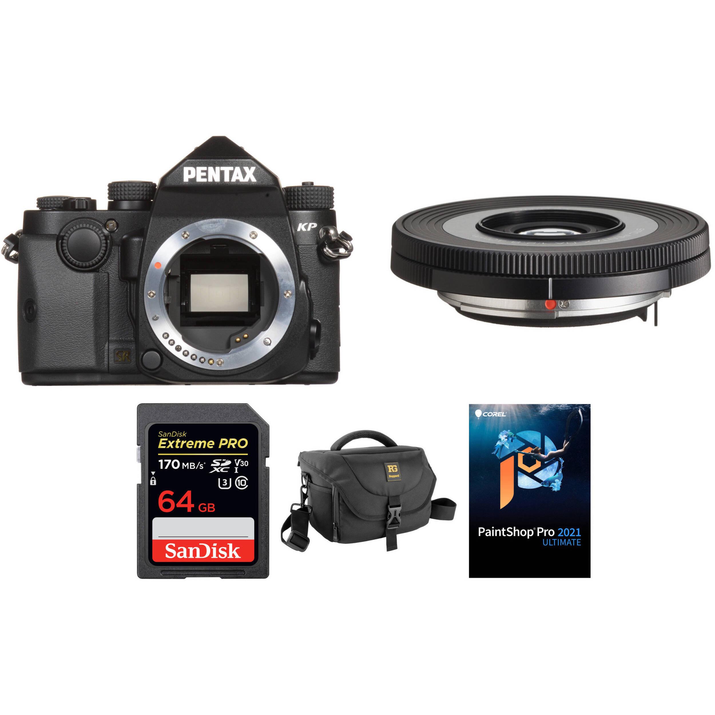 Gadget Career Camera-On-Camera adapter for Pentax KP