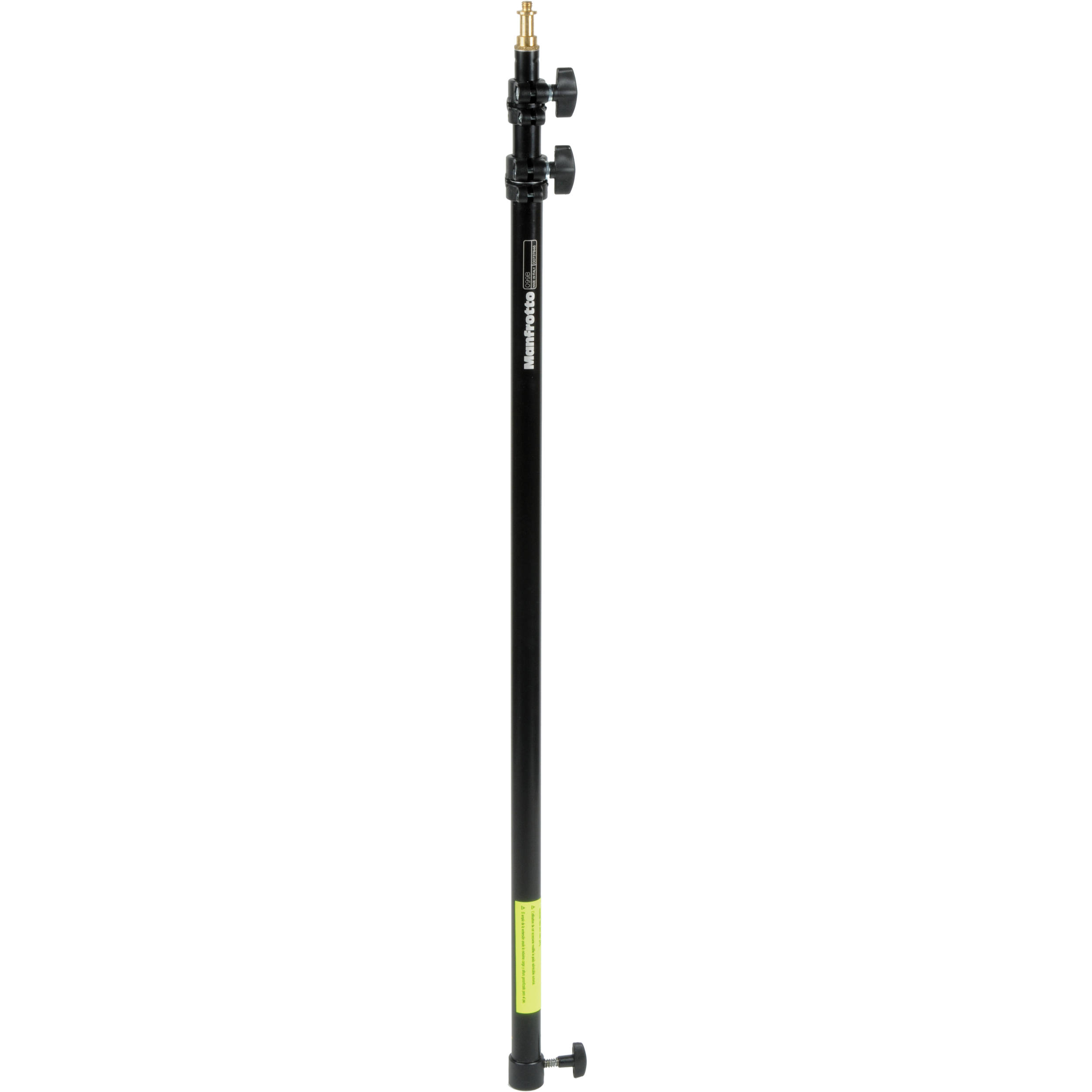 """Light Stand Pole: Manfrotto 3-Section Extension Pole (35- 92"""") (Black) 099B"""