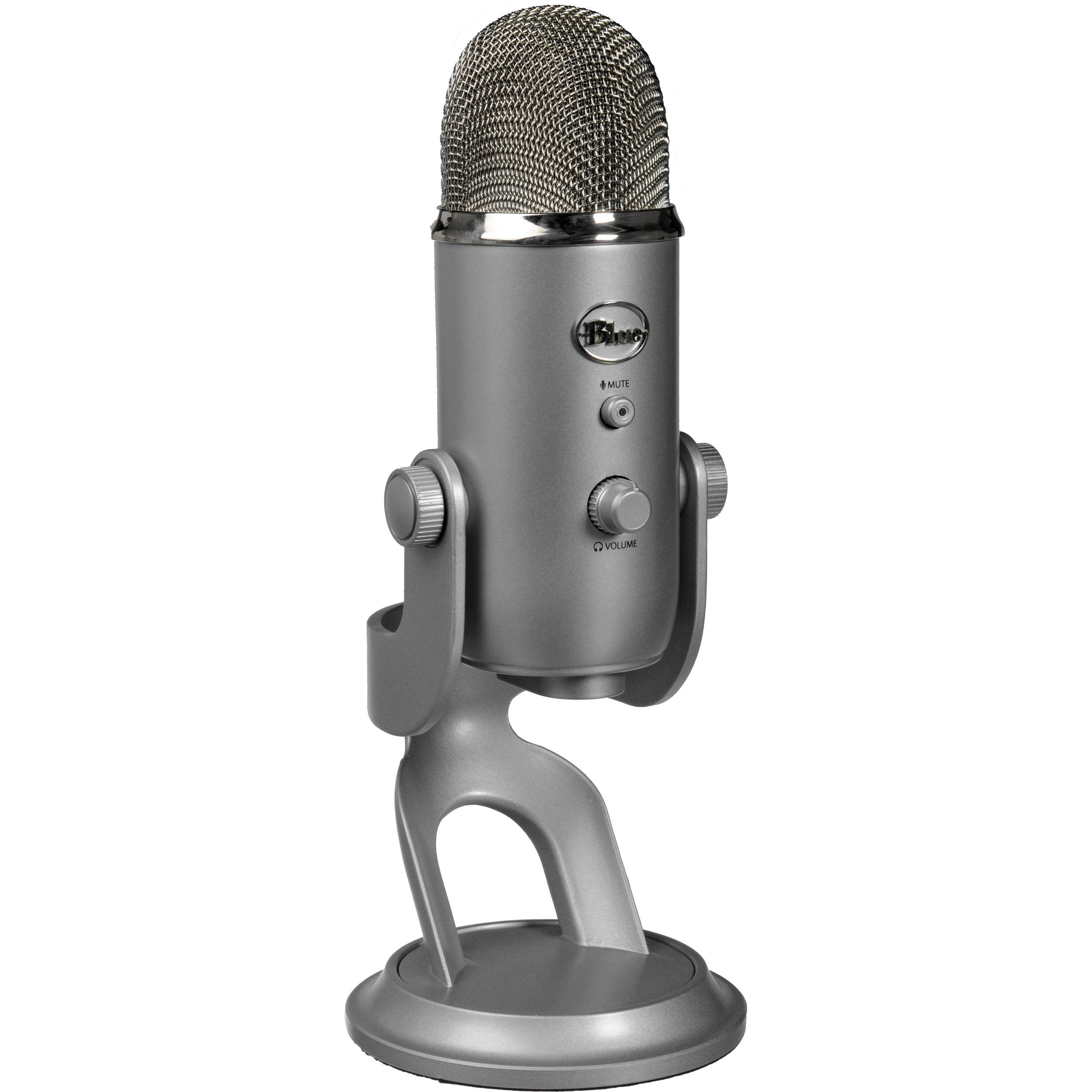 Blue Yeti Usb Microphone Silver 1950 B Amp H Photo Video