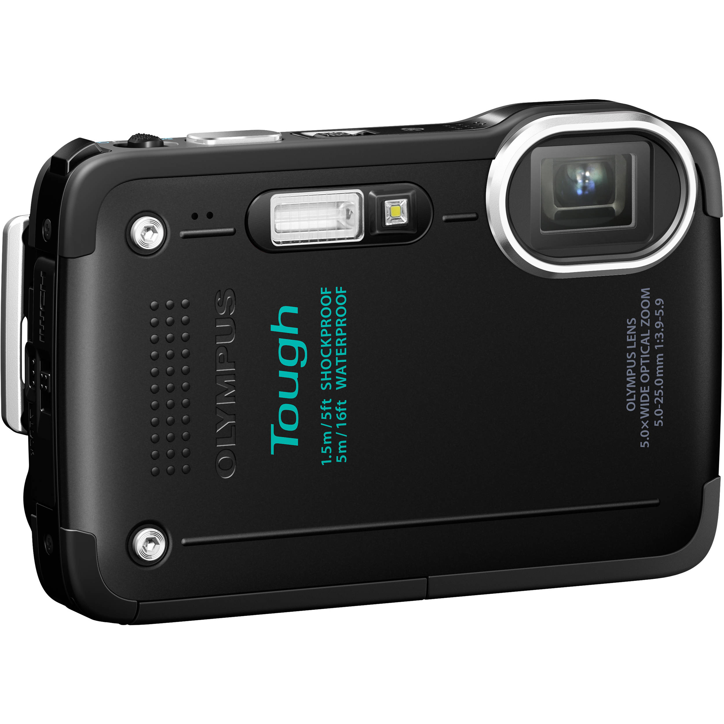 Olympus TG-630 iHS Digital Camera (Black) V104110BU000 B&H ...