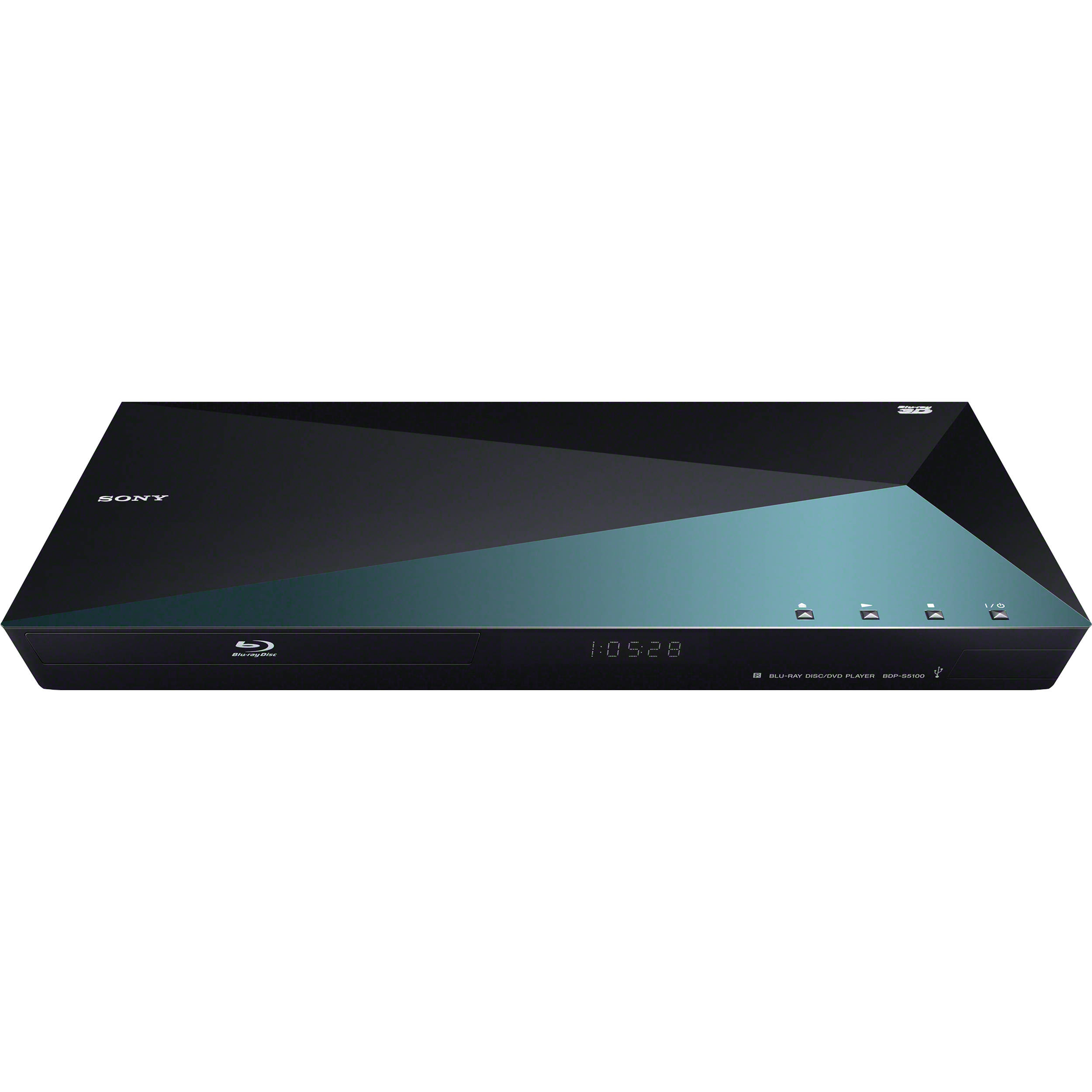 sony bdp s5100 3d blu ray disc player with super wi fi bdp. Black Bedroom Furniture Sets. Home Design Ideas