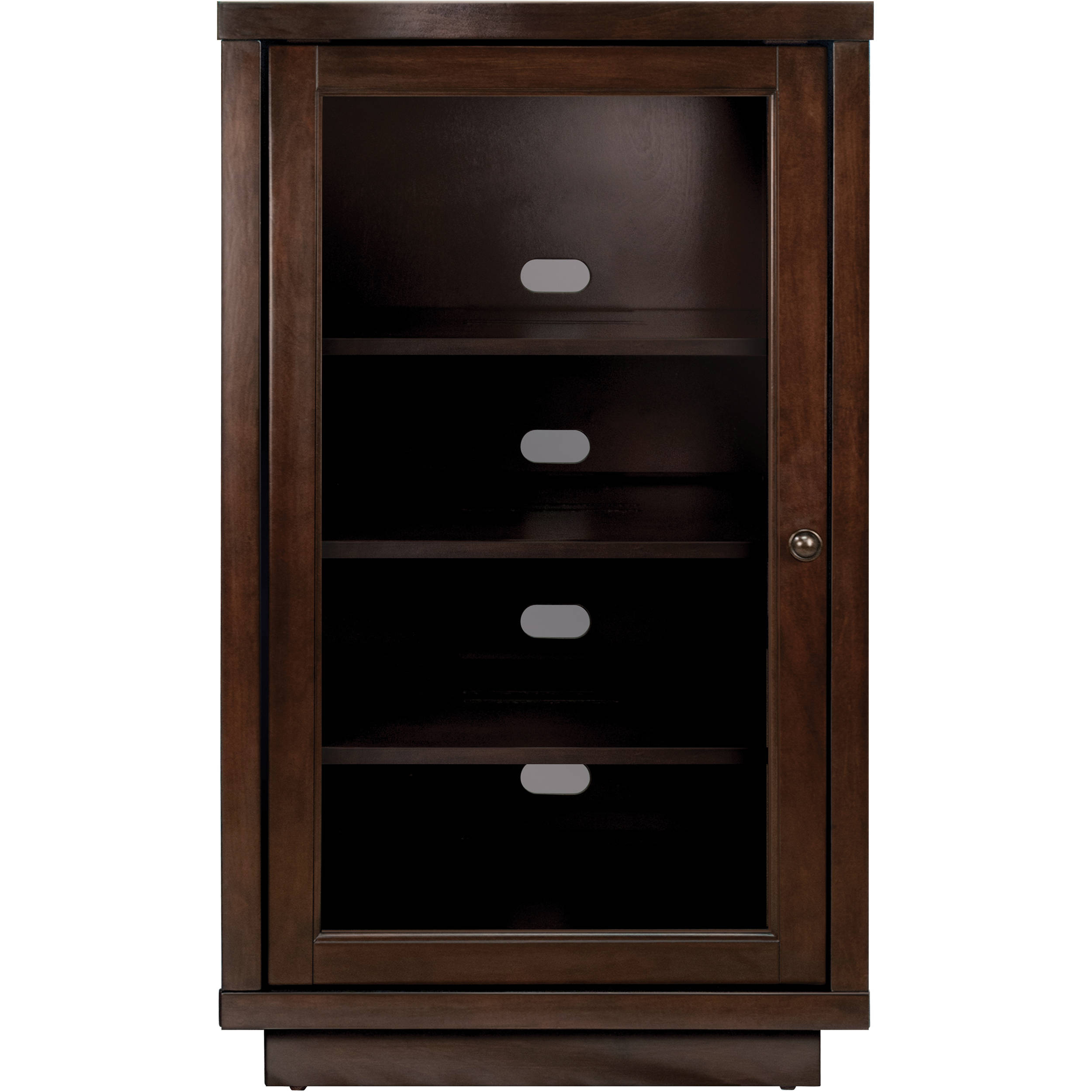 Bell O Atc402 Wood Enclosed Audio Video Component Cabinet