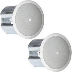 "JBL Control 16C/T 2-Way 6.5"" Coaxial Ceiling Loudspeakers (Pair, White)"