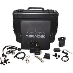 Teradek Bolt 600 SDI/HDMI Wireless Video Transmitter/Receiver Deluxe Kit