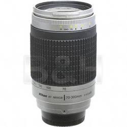 Nikon Zoom Telephoto AF Zoom Nikkor 70-300mm f/4-5.6G AF Lens - Silver