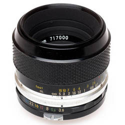 "Nikon Normal Macro 55mm f/3.5 Micro-Nikkor-P Auto NON-AI Manual Focus Lens""Not for Digita""l"