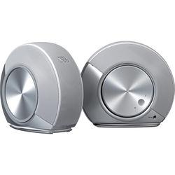 JBL Pebbles 2.0 Computer Speaker System (JBLPEBBLESSILAM) - Silver/White - Refurbished