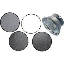 """Elinchrom Honeycomb 3-Grid Set with 7"""" Reflector with 7"""" Grid Reflector"""