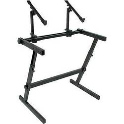 QuikLok Z-726 Double Tier Height Adjustable Keyboard Stand